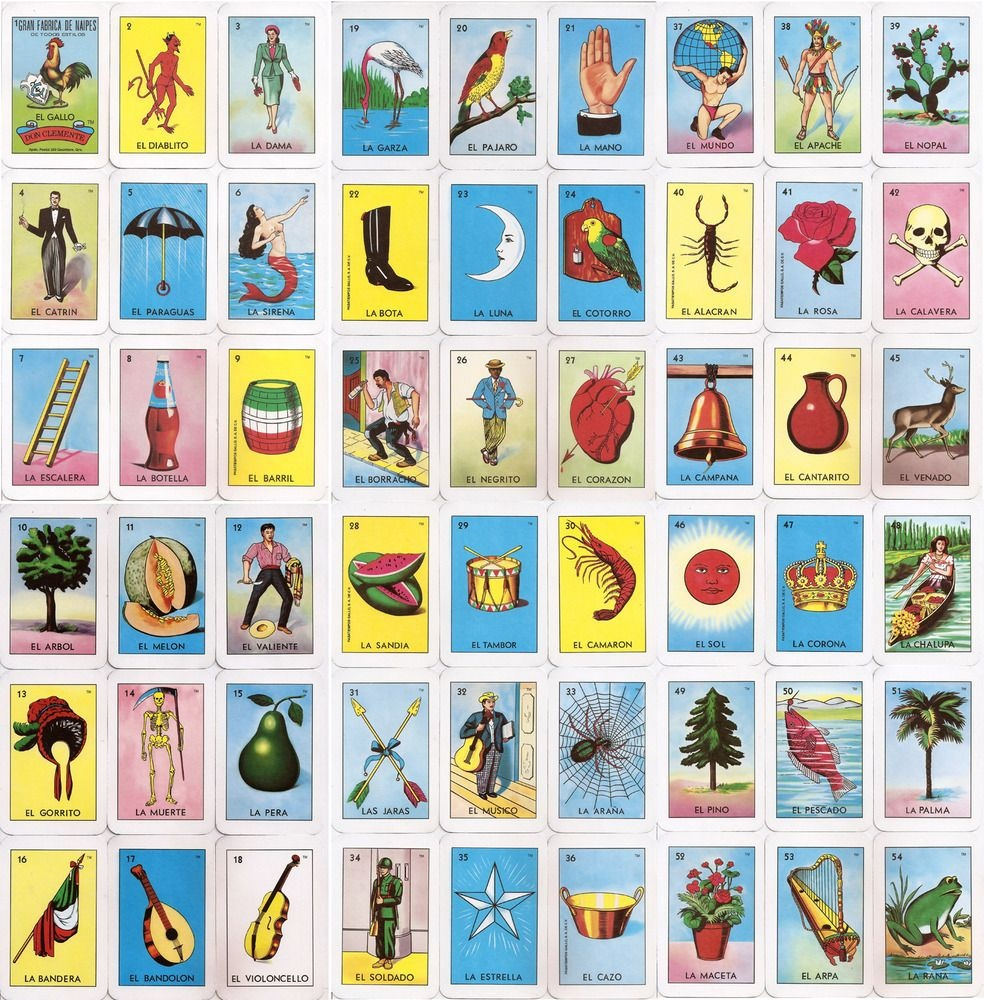 El Corazon Loteria Card | Home Makeover | Loteria Cards, Cards - Loteria Printable Cards Free