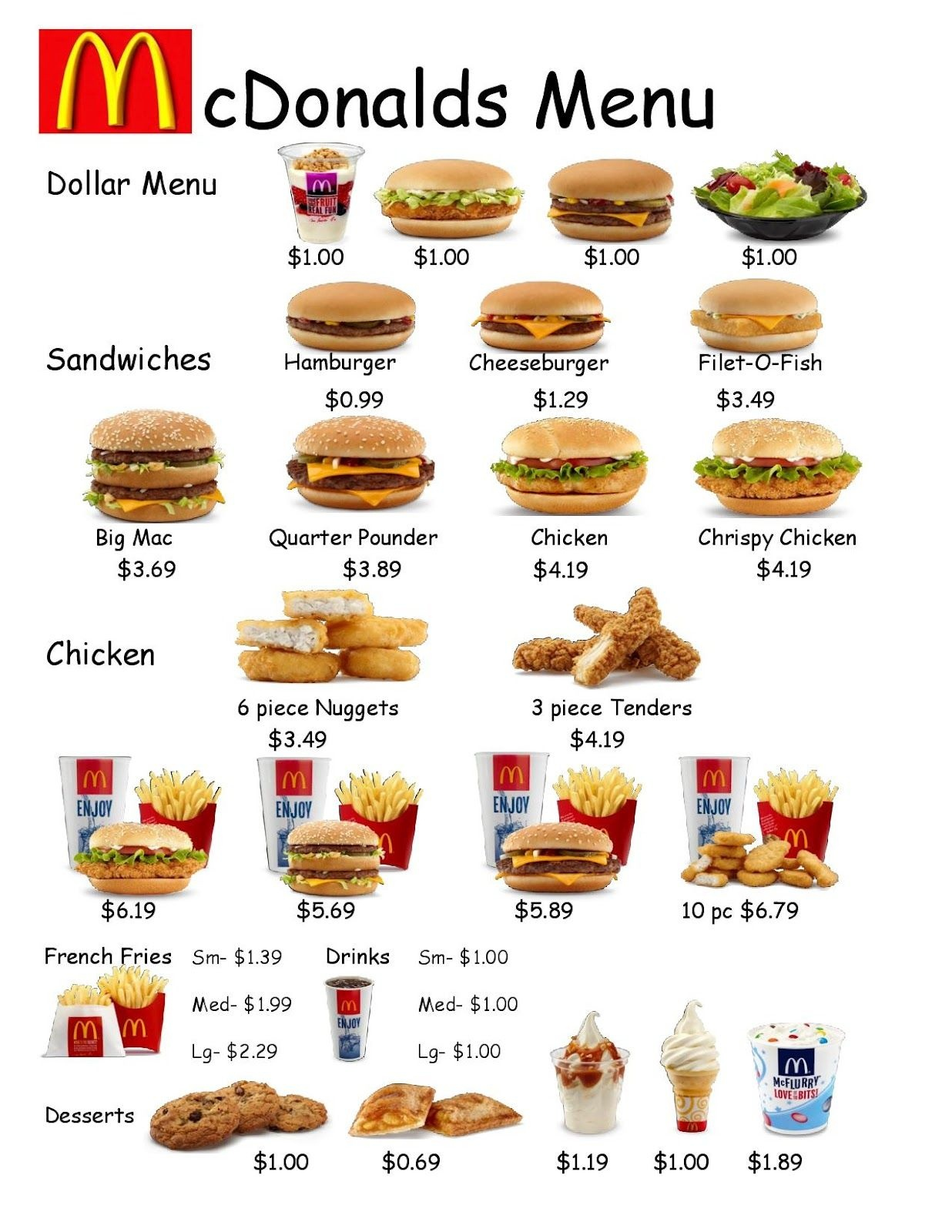 Empoweredthem: Fast Food Worksheet 1   Learning Life Skills - Free Printable Menu Math Worksheets