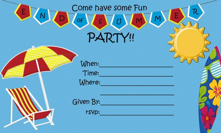 Free Printable Event Invitations