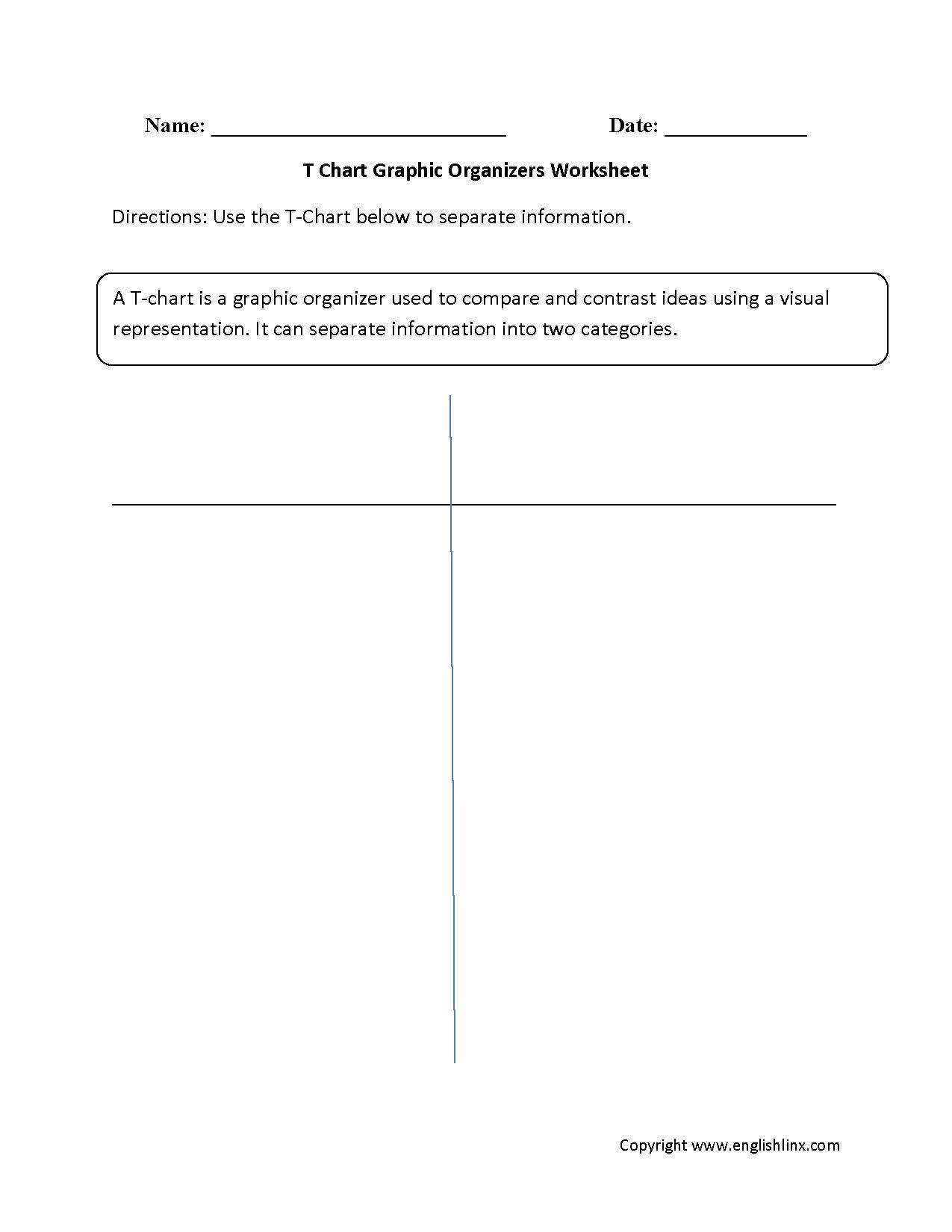 Englishlinx   Graphic Organizers Worksheets - Free Printable Main Idea Graphic Organizer