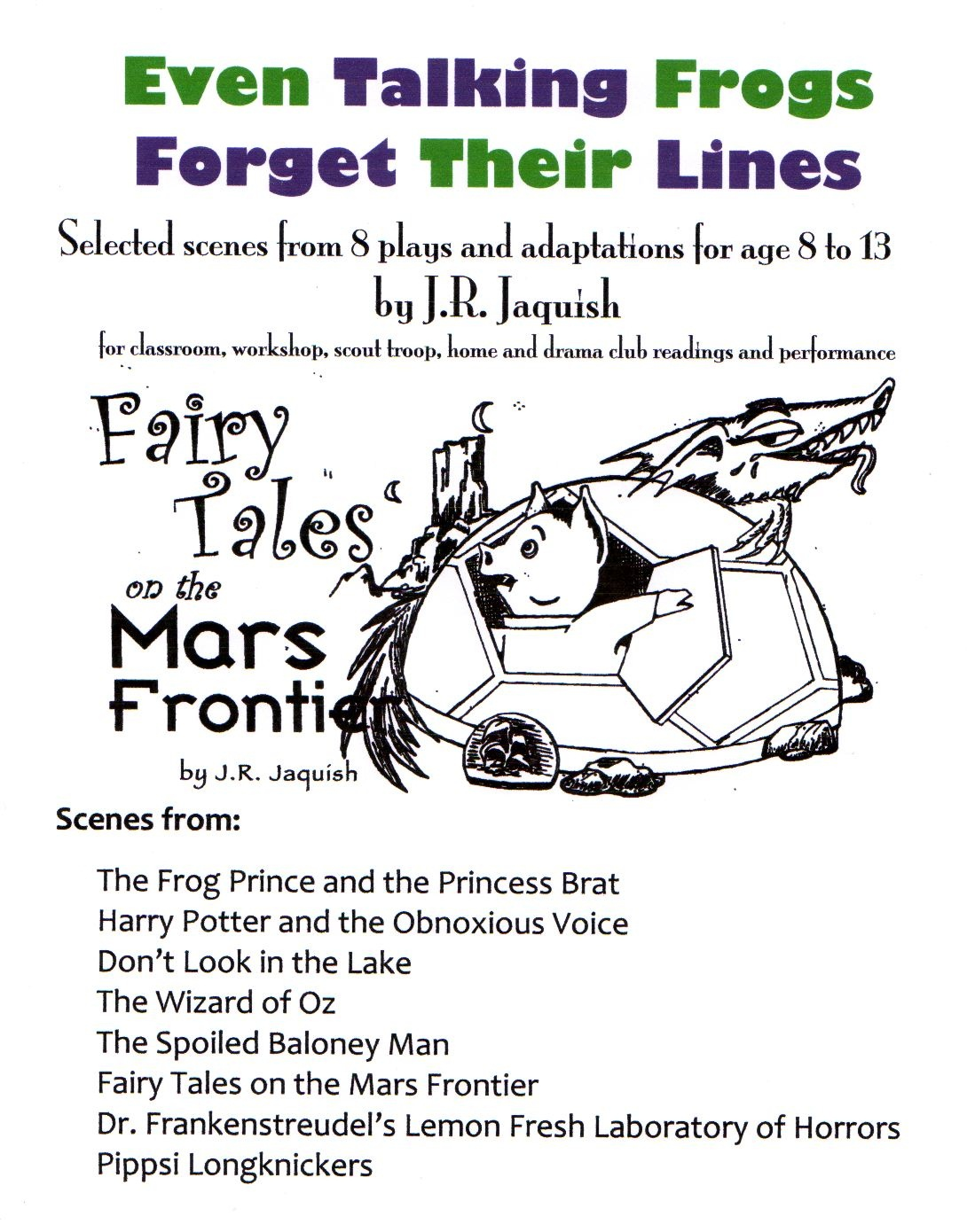 Fairy Tale Theater Scripts <Br> A Sub-Page Of<Br>Www - Free Printable Halloween Play Scripts