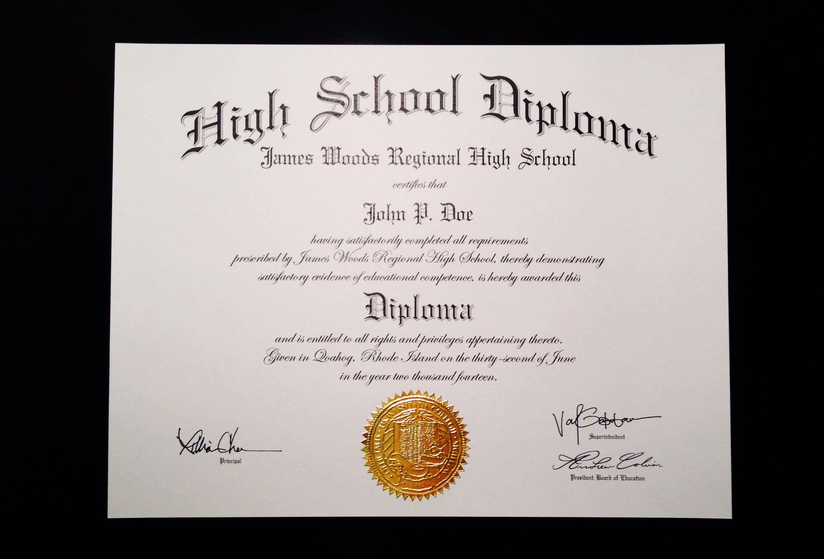 fake ged printable certificate brammer jeffrey diploma template source