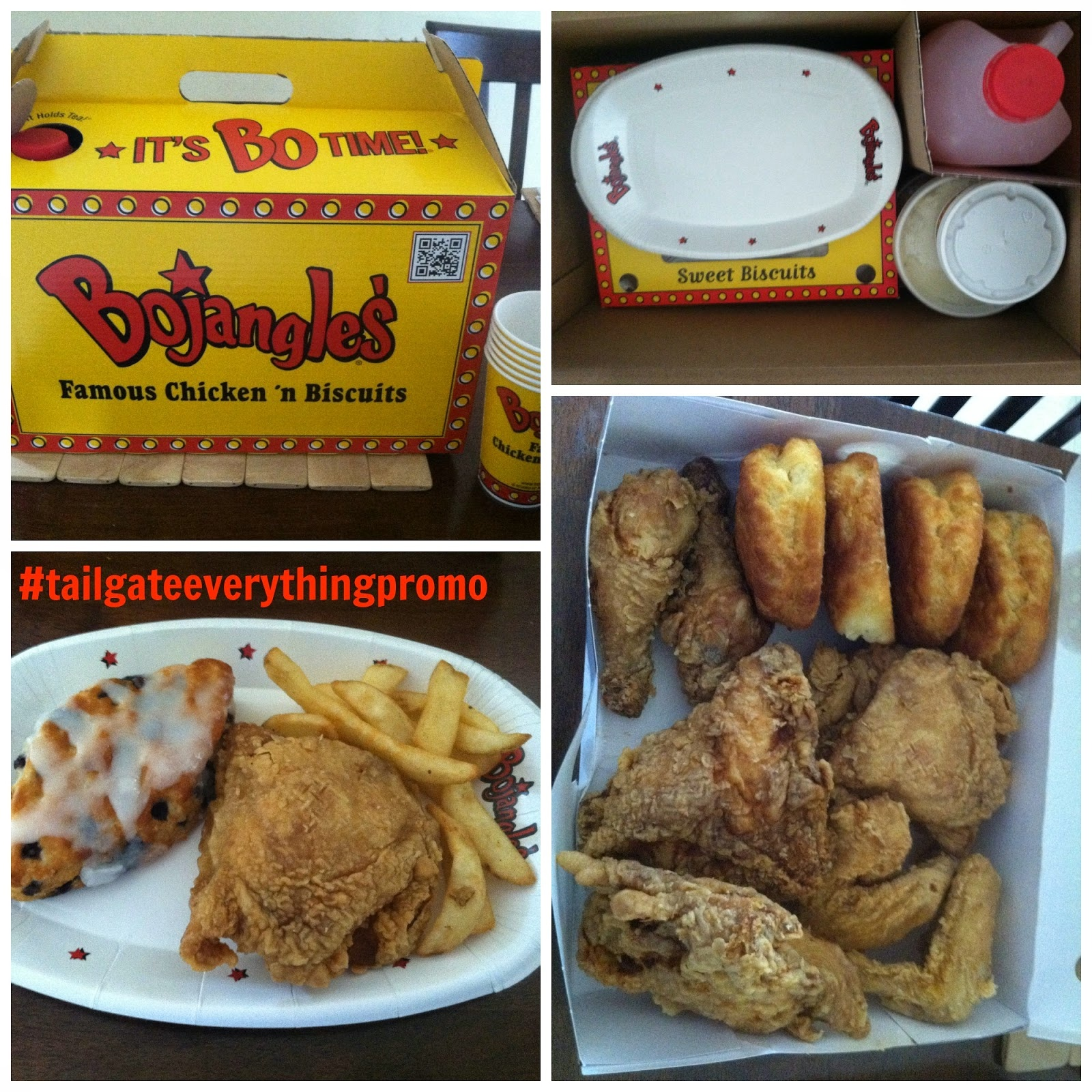 Family Tailgating With Bojangles' (Reveiw & Giveaway - Free Printable Coupons For Bojangles