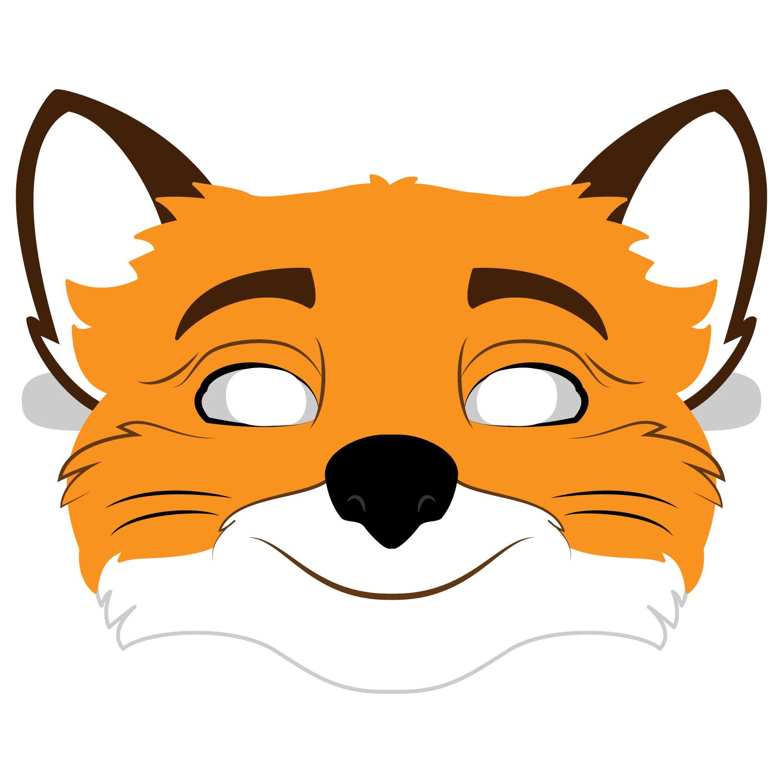 Fantastic Mr. Fox Mask Template   Free Printable Papercraft Templates - Free Printable Fox Mask Template