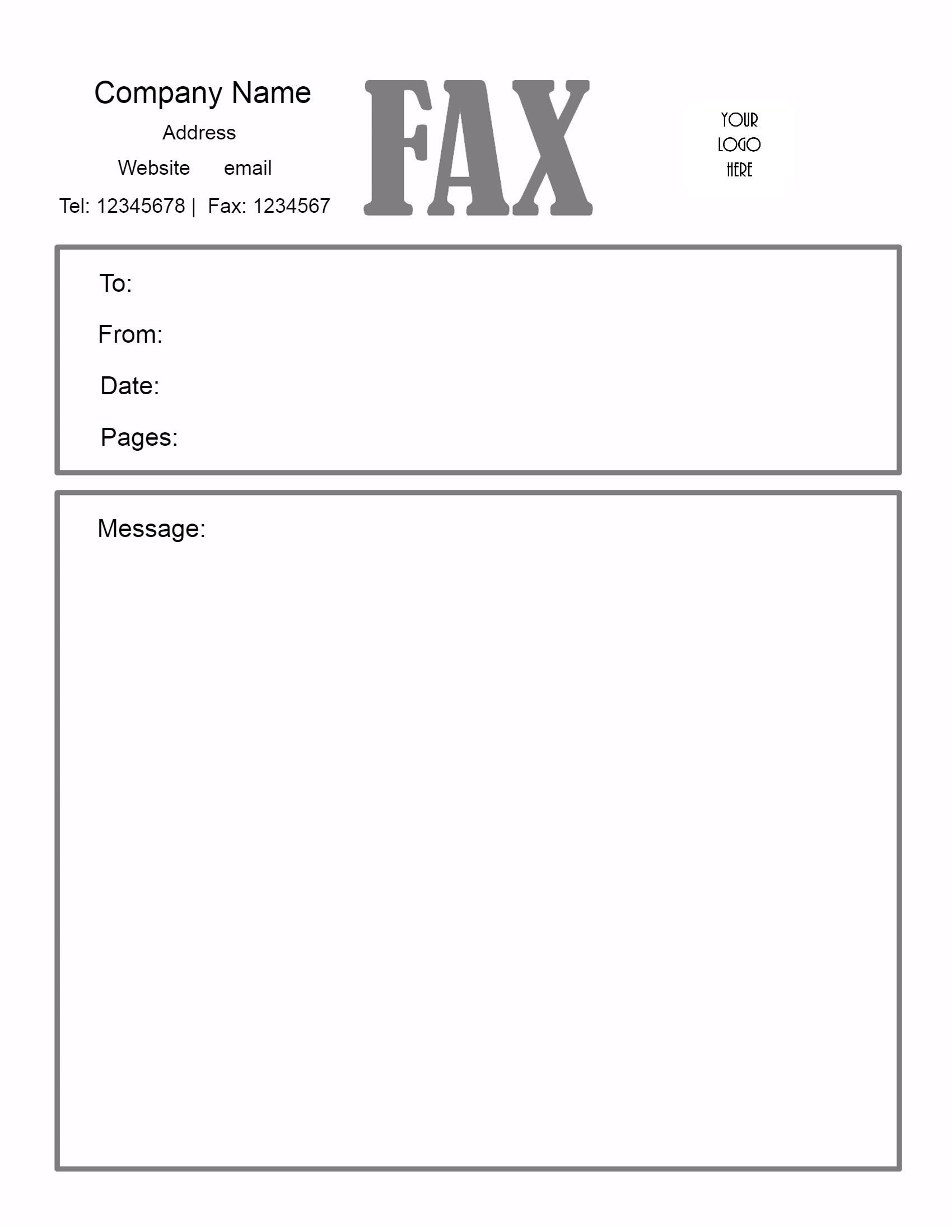 Fax Cover Sheet – Download Fax Cover Sheet, Fax Cover Sheet Template - Free Printable Message Sheets