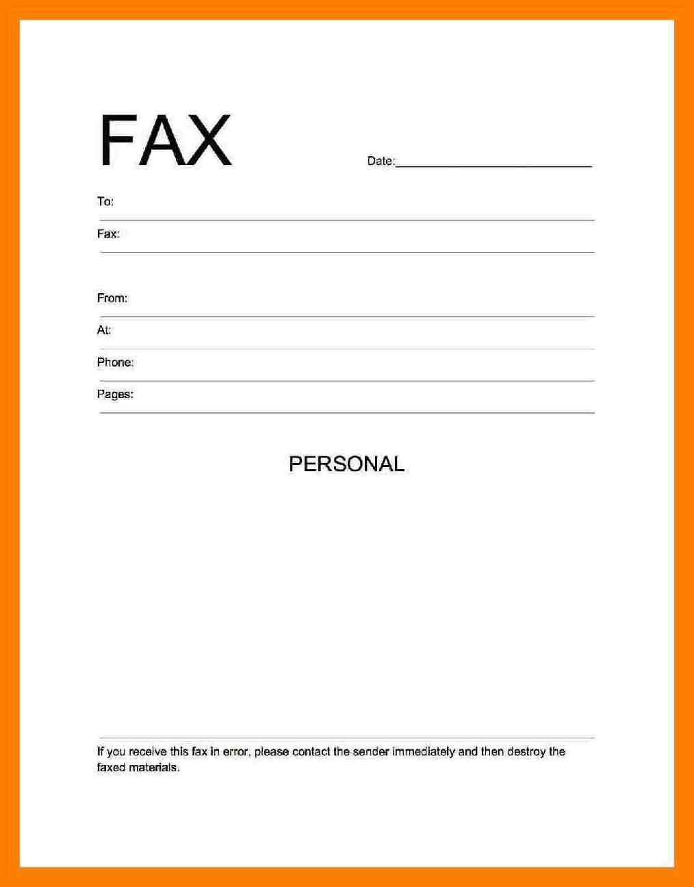 Fax Cover Sheet Pdf Free Download - Free Printable Fax Cover Sheet Pdf