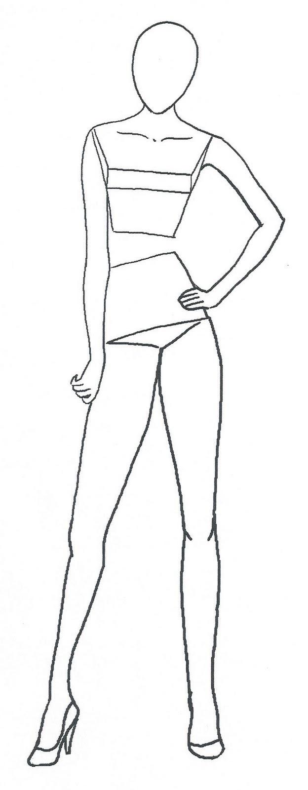 Figure Template. Fashion Template 021 Â I Fashion Templates. Figure - Free Printable Fashion Templates