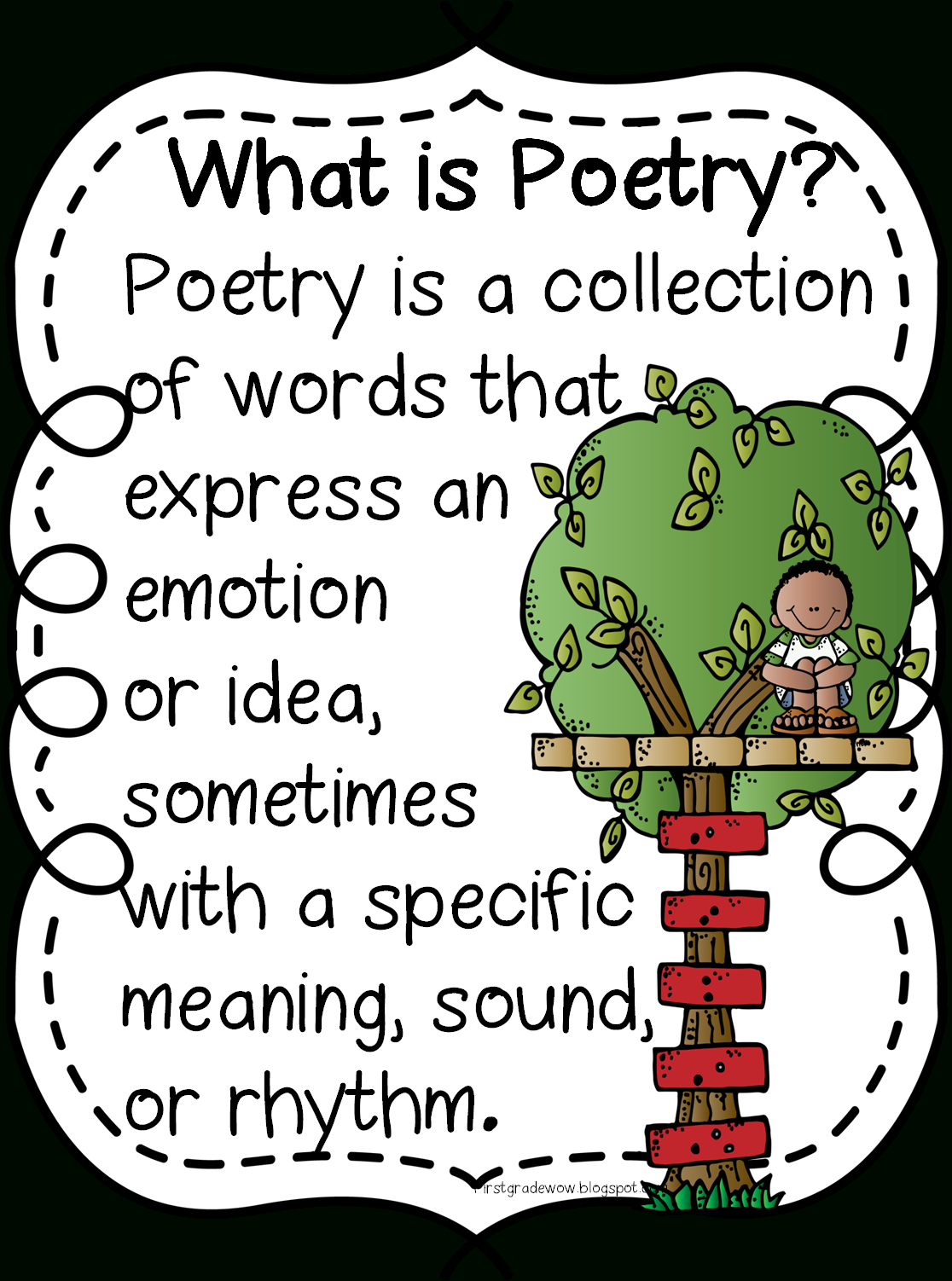 First Grade Wow: Happy Poetry Month! - Free Printable Poetry Posters