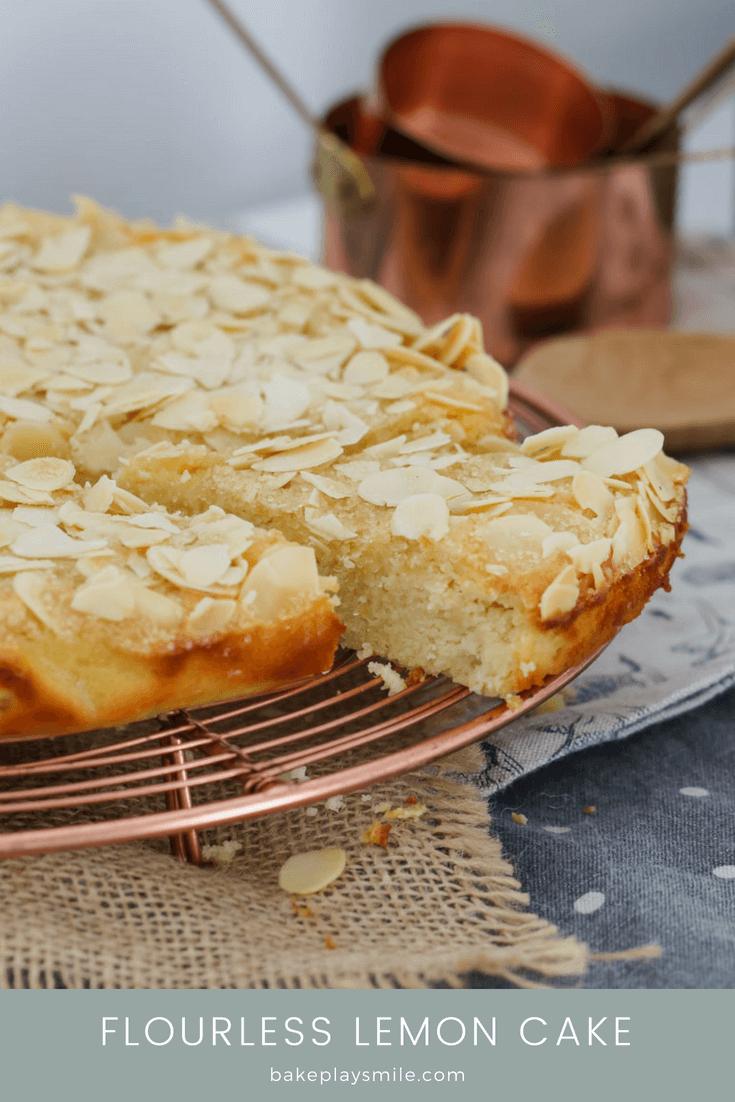 Flourless Lemon Cake | Gluten-Free Recipe - Bake Play Smile - Free Printable Dessert Recipes