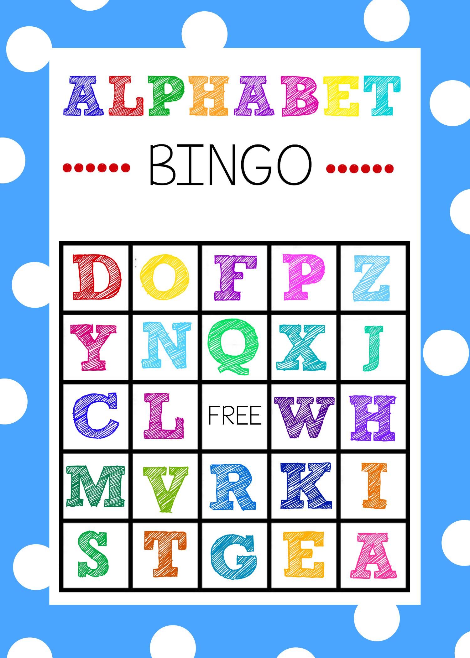 Free Alphabet Bingo Boards. Such A Fun Abc Game For Kids! | Abc - Free Printable Alphabet Board Games