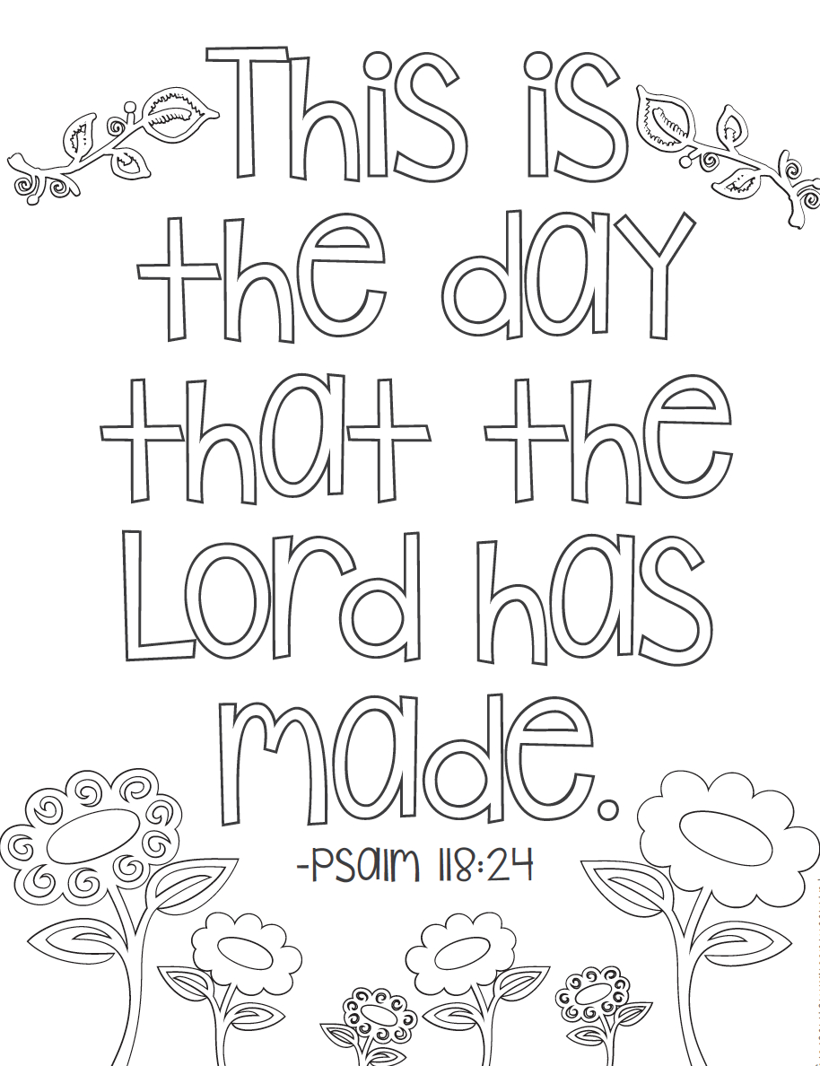 Free Bible Verse Coloring Pages | Coloring Books | Bible Verse - Free Printable Bible Coloring Pages