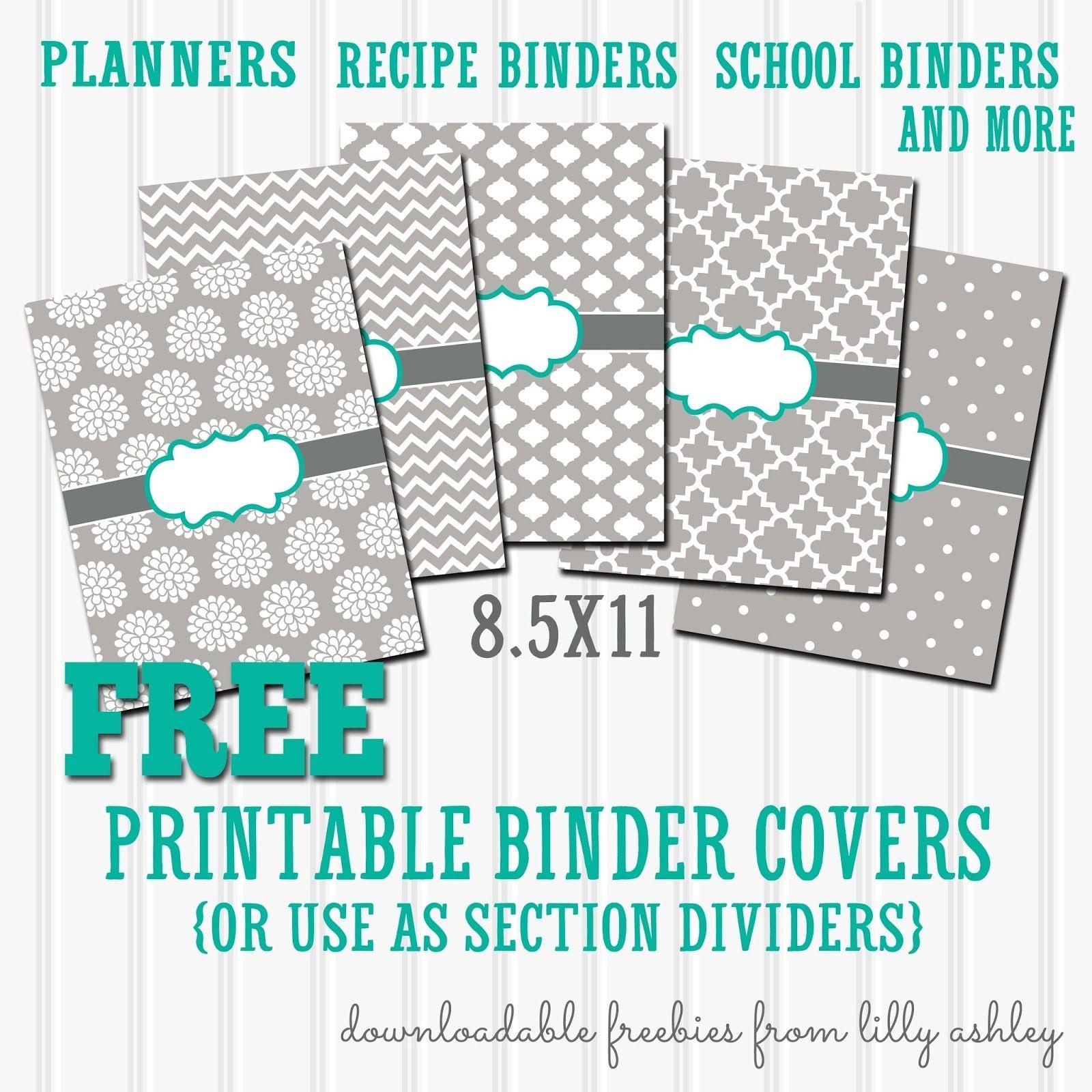 Free Binder Covers Printable Set | Preschool | Teacher Binder Covers - Free Printable Binder Covers And Spines