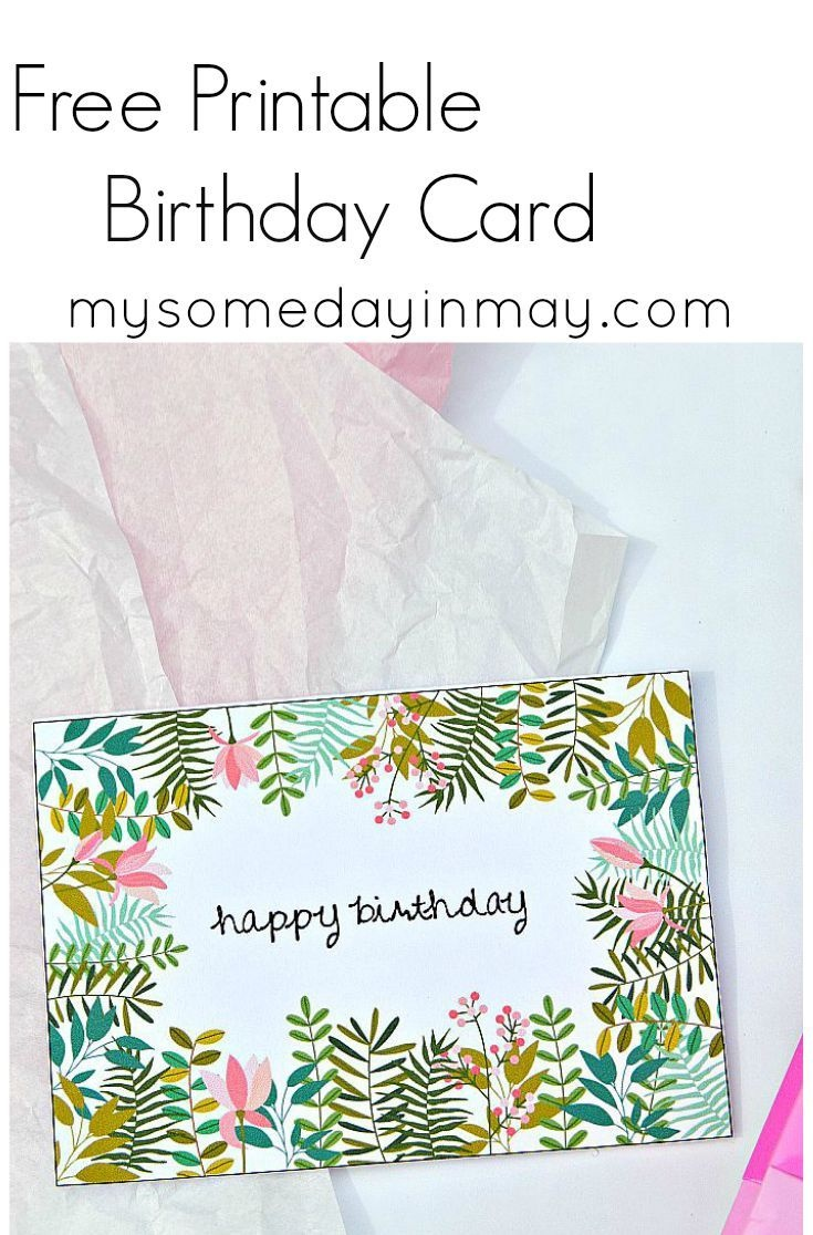 Free Birthday Card | Birthday Ideas | Free Birthday Card, Free - Free Printable Greeting Cards No Sign Up