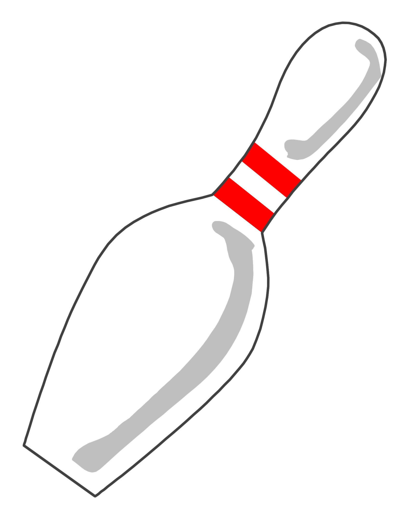 Free Bowling Pin Template, Download Free Clip Art, Free Clip Art On - Free Printable Bowling Ball Template