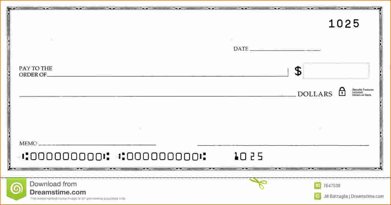 Free Check Template Word - Demir.iso-Consulting.co - Free Printable Blank Checks