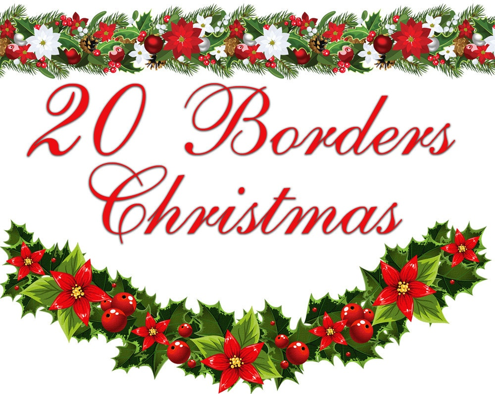 Free Christmas Cliparts Border, Download Free Clip Art, Free Clip - Free Printable Christmas Borders