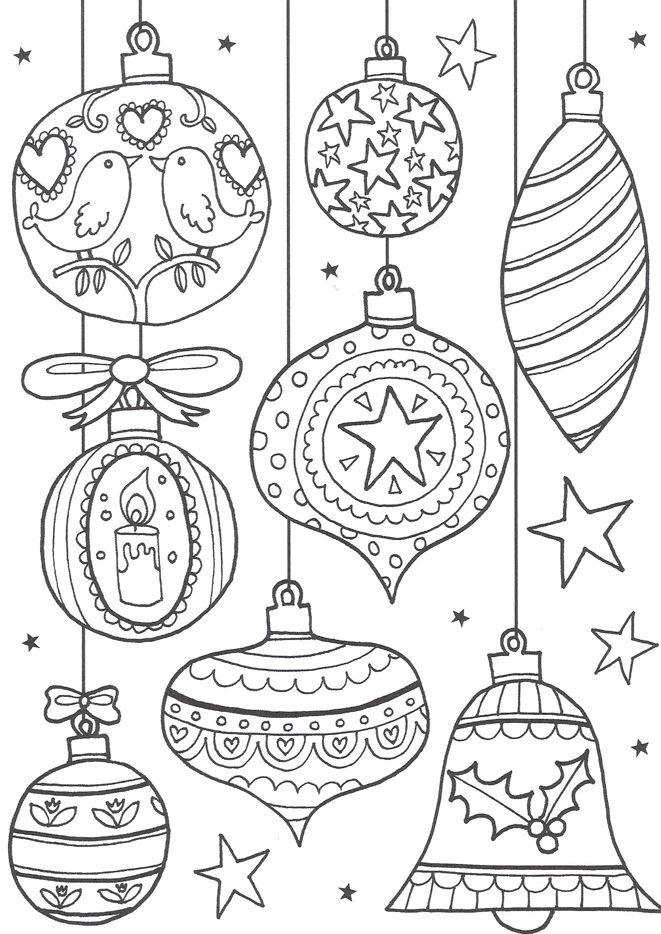 Free Christmas Colouring Pages For Adults – The Ultimate Roundup - Free Printable Christmas Coloring Pages
