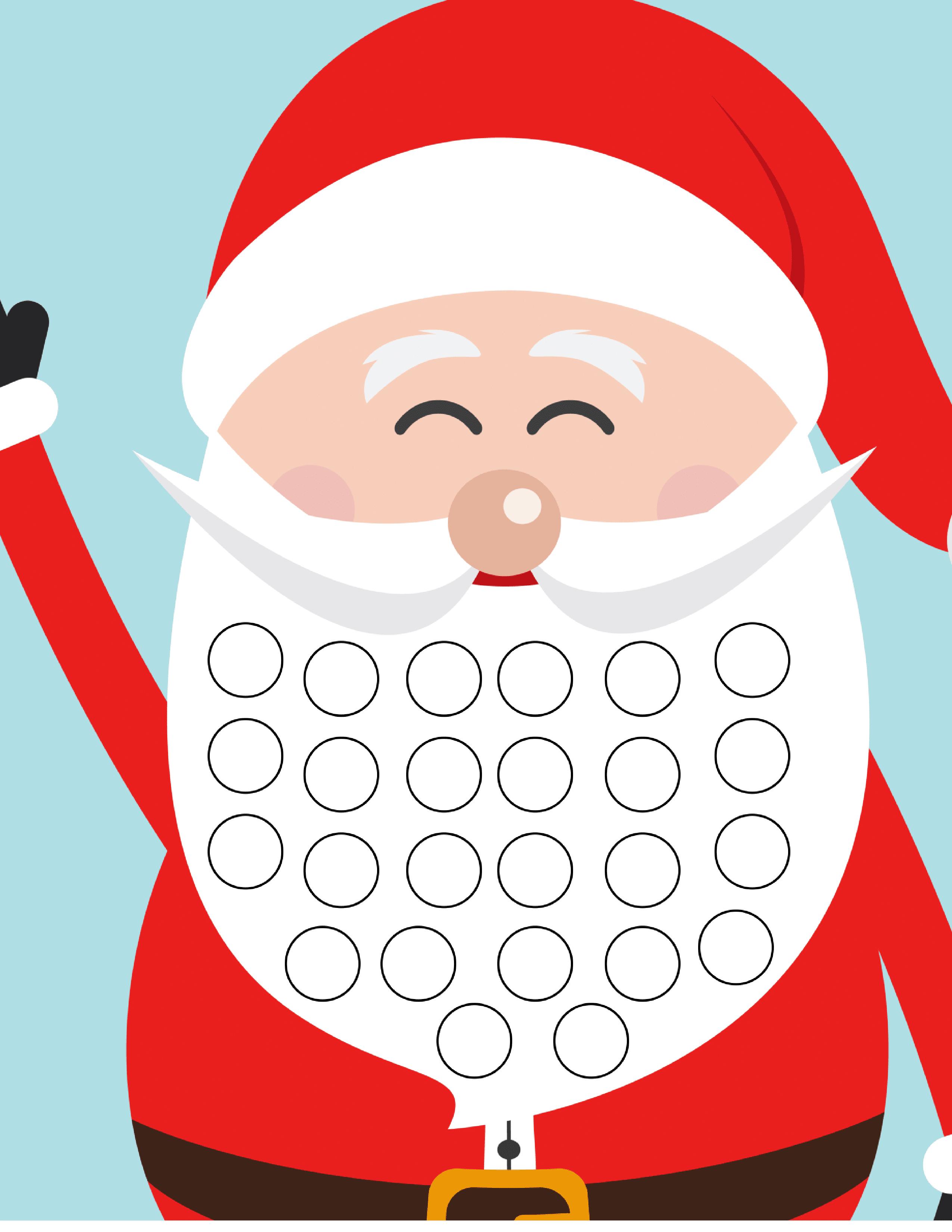 Free Christmas Countdown Calendar - - Christmas Countdown Free Printable