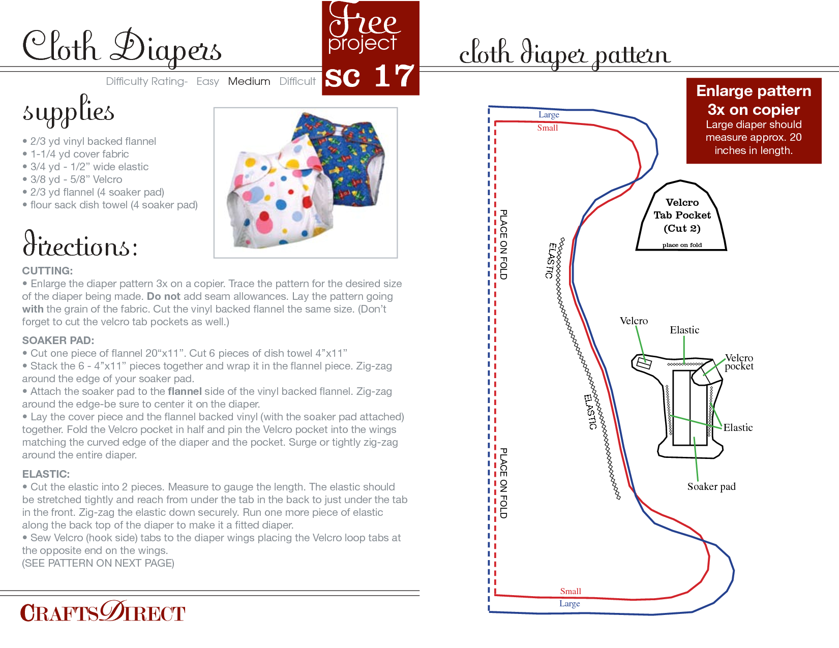 Free Cloth Diaper Patterns | Cloth Diaper Pattern_My Free Diaper - Cloth Diaper Pattern Free Printable
