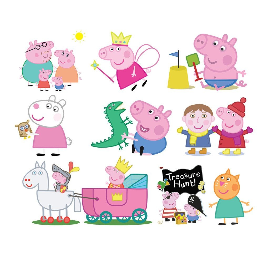 Free Download Printable Peppa Pig Clipart For Your Creation. | Party - Peppa Pig Character Free Printable Images