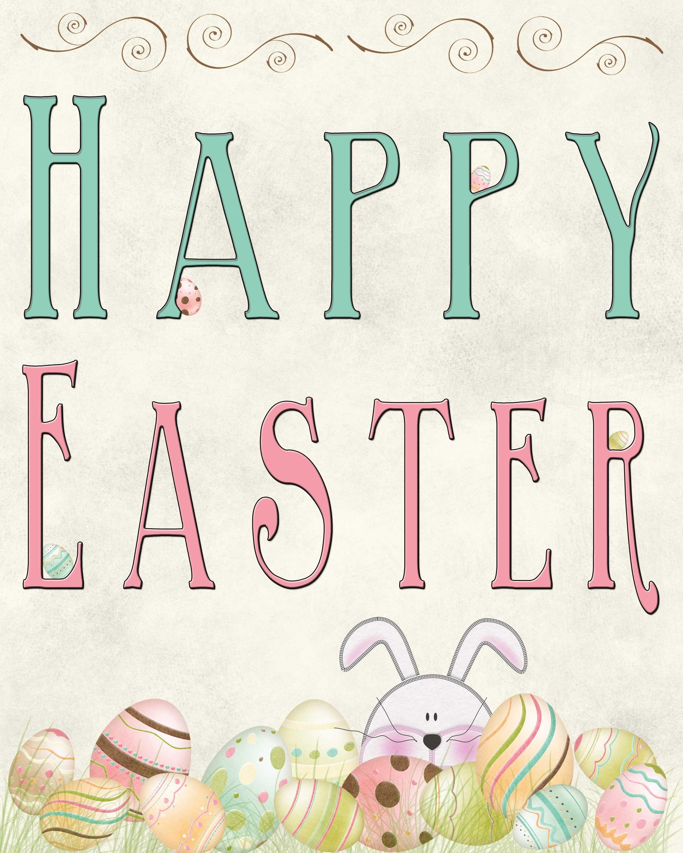 Free Easter Printable | All Free Printables | Tarjeta De Pascua - Printable Easter Greeting Cards Free