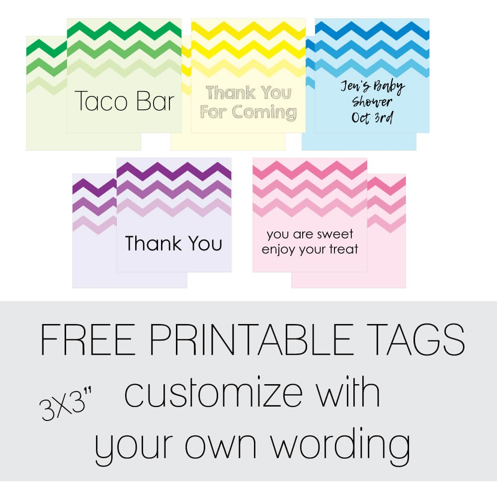 Free Favor Tags For Parties   Cutestbabyshowers - Free Printable Baby Shower Labels And Tags