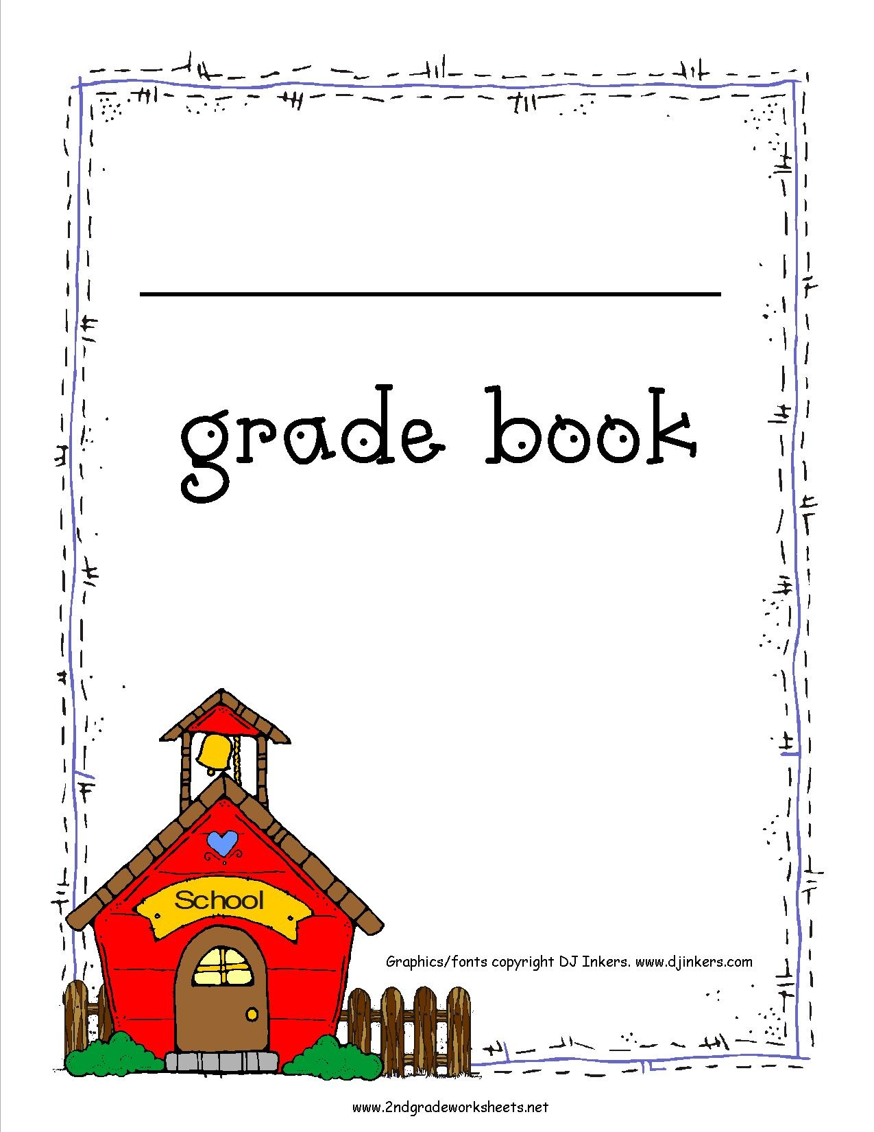 Free Grade Book Printouts - Free Printable Gradebook