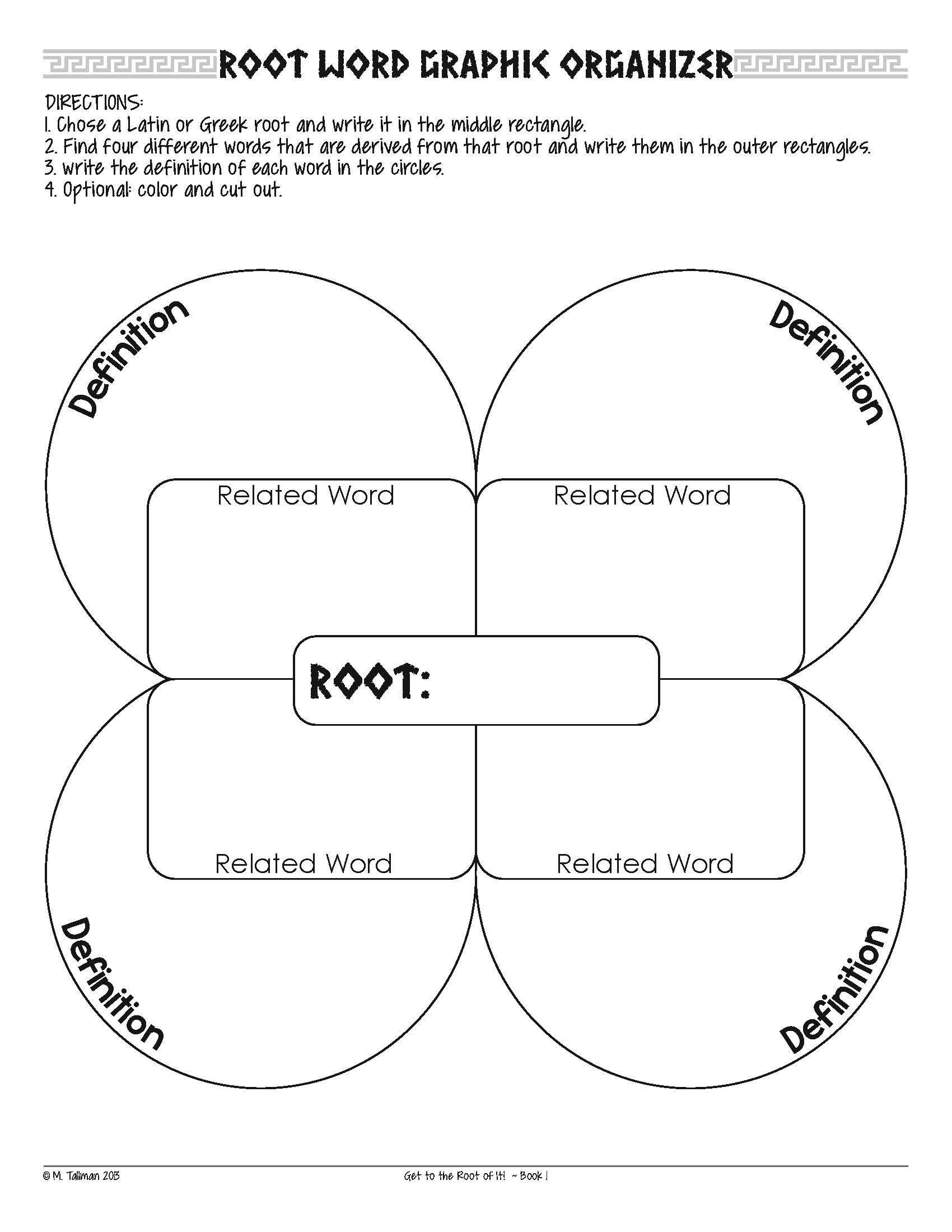 Free Greek And Latin Root Word Activities   Literacy Teaching - Free Printable Greek And Latin Roots