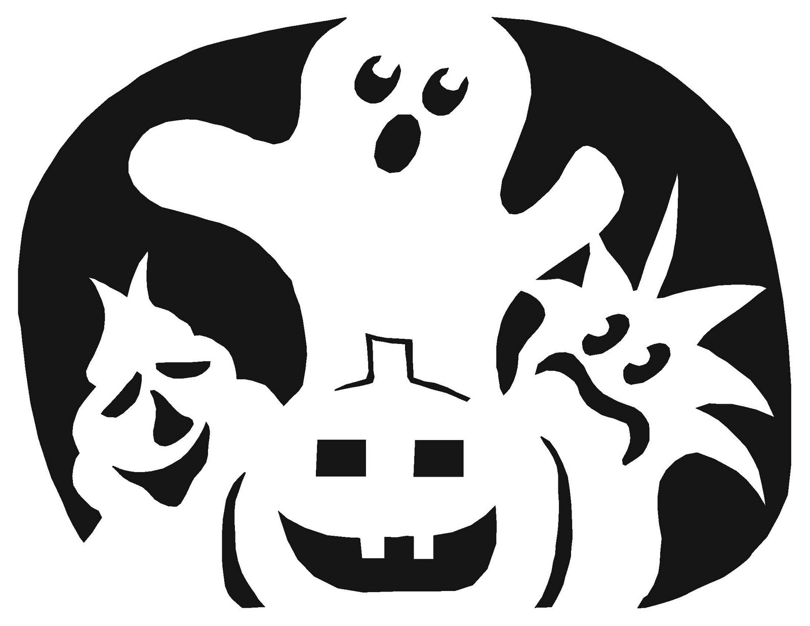 Free Guitar Pumpkin Stencil, Download Free Clip Art, Free Clip Art - Pumpkin Patterns Free Printable
