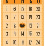 Free Halloween Printables   Bingo   Printable Bingo Template Free