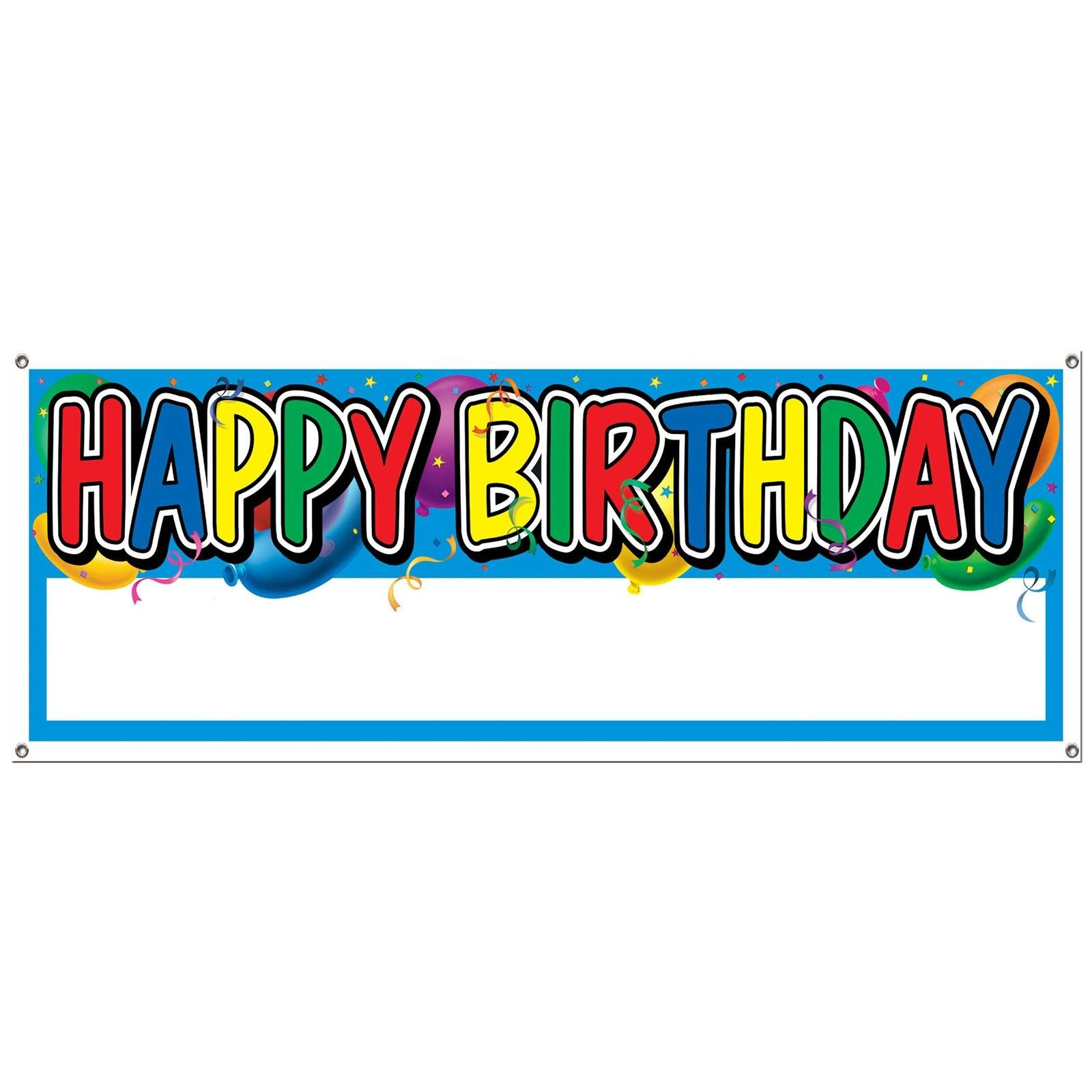 Free Happy Birthday Sign, Download Free Clip Art, Free Clip Art On - Free Printable Happy Birthday Signs
