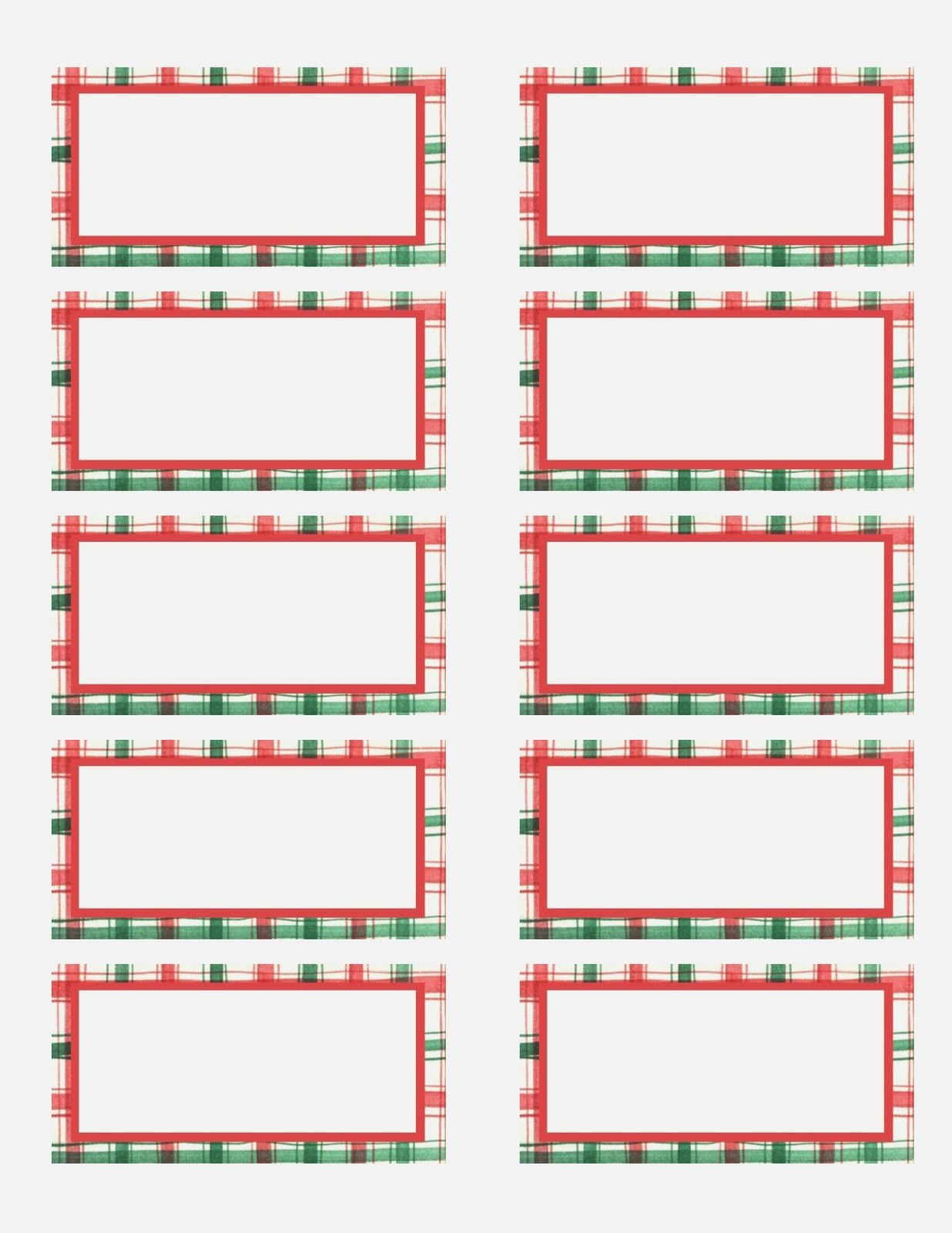 Free Holiday Label Templates - Keni.candlecomfortzone | Holiday - Christmas Labels Free Printable Templates