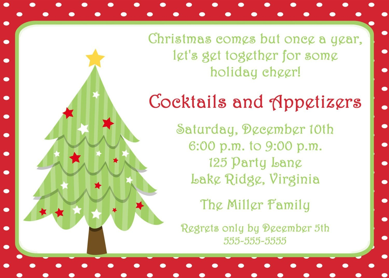 Free Invitations Templates Free   Free Christmas Invitation - Free Printable Christmas Party Flyer Templates