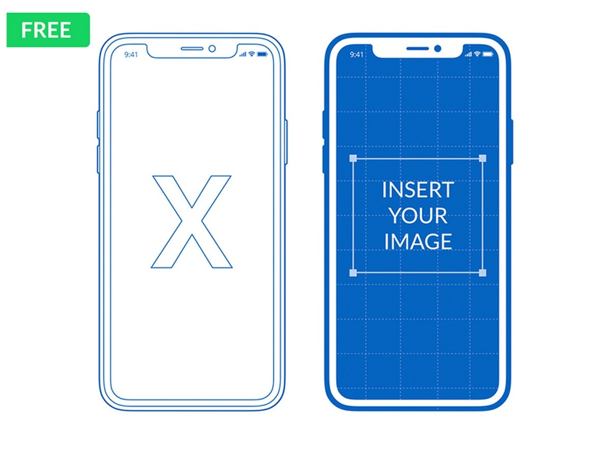 Free Iphone X, Xs, Xr Mockups (Psd, Sketch, Ai, Adobe Xd) - Designmodo - Free Printable Iphone Skins