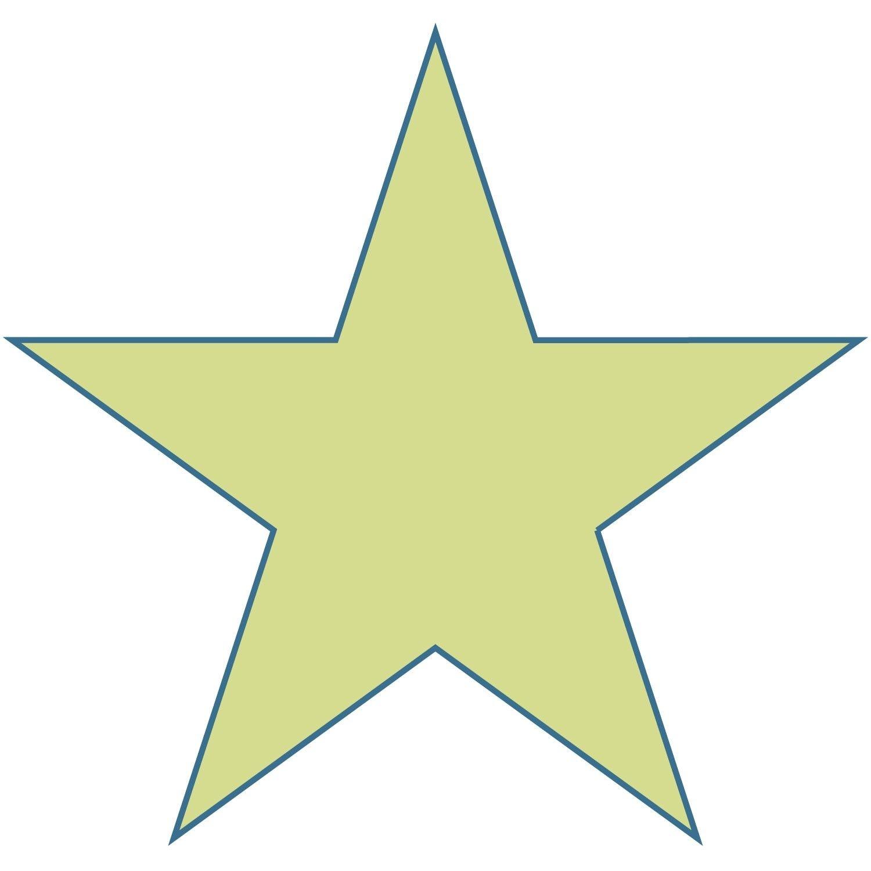 Free Large Printable Star Shapes | Large Star Shape | Christmas - Large Printable Shapes Free