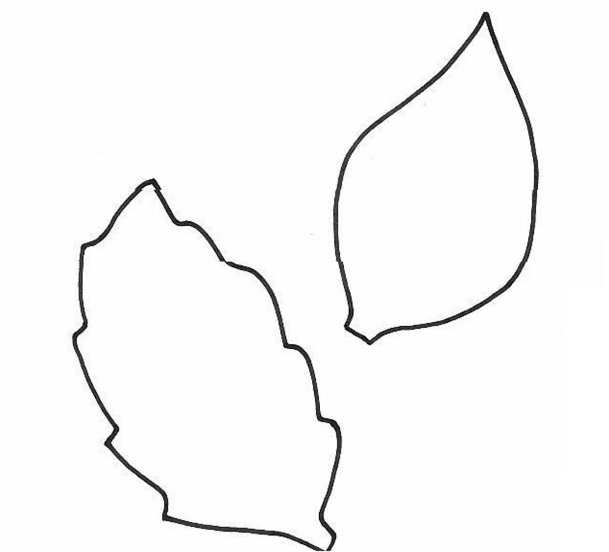 Free Leaf Pattern Cliparts, Download Free Clip Art, Free Clip Art On - Free Printable Leaf Template