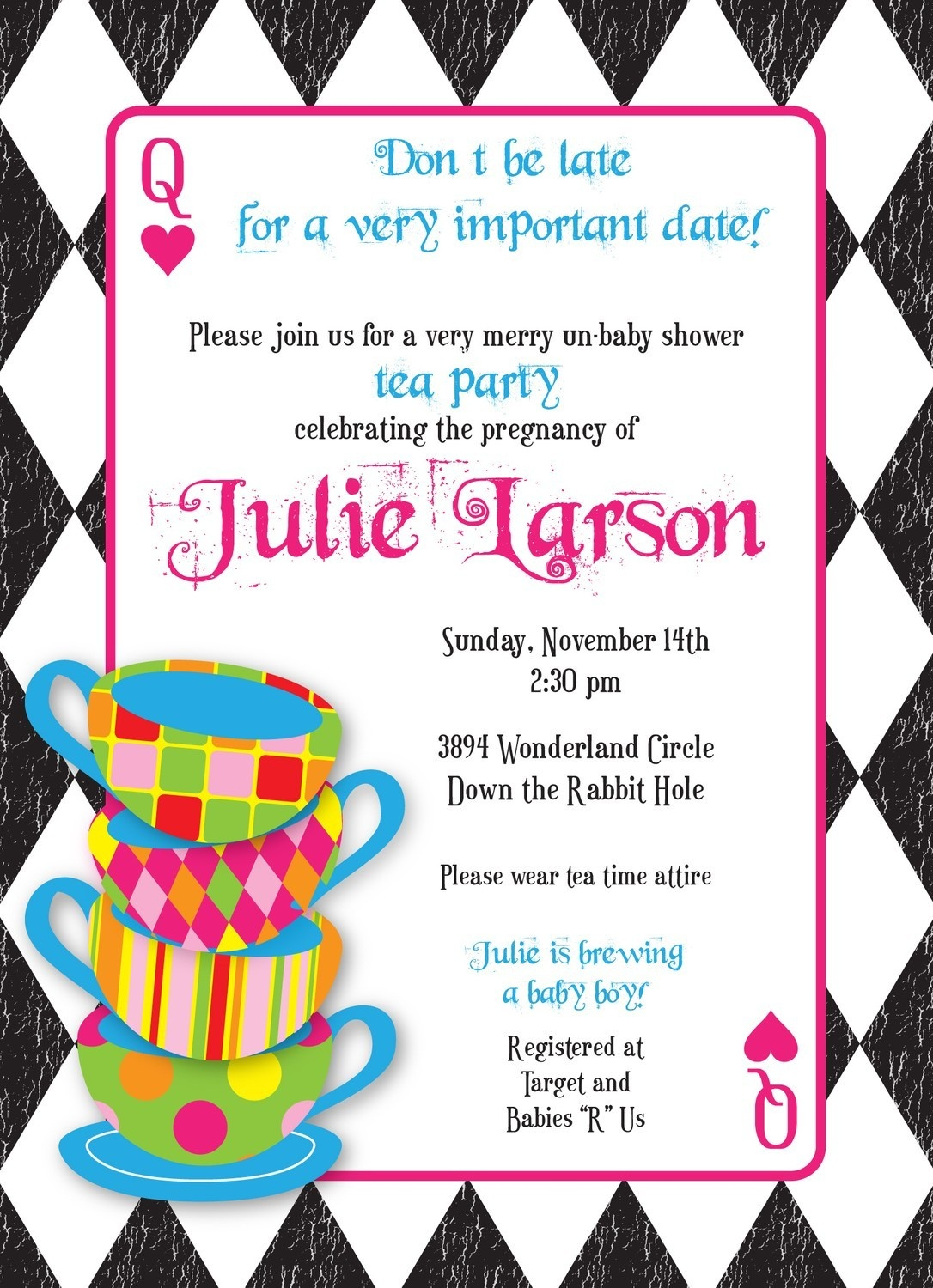 Free Mad Hatters Tea Party, Download Free Clip Art, Free Clip Art On - Mad Hatter Tea Party Invitations Free Printable