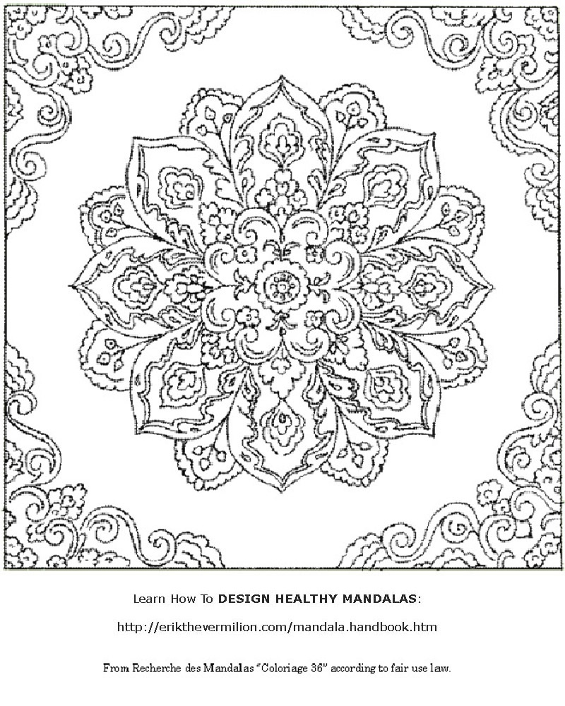 Free Mandalas To Print   Free Mandala Coloring Book Printable Pages - Free Printable Mandala Patterns