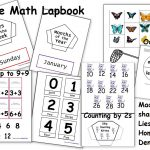 Free Math Lapbook (Prek, K, 1St Grade)   Homeschool Den   Free Printable Lapbook Templates