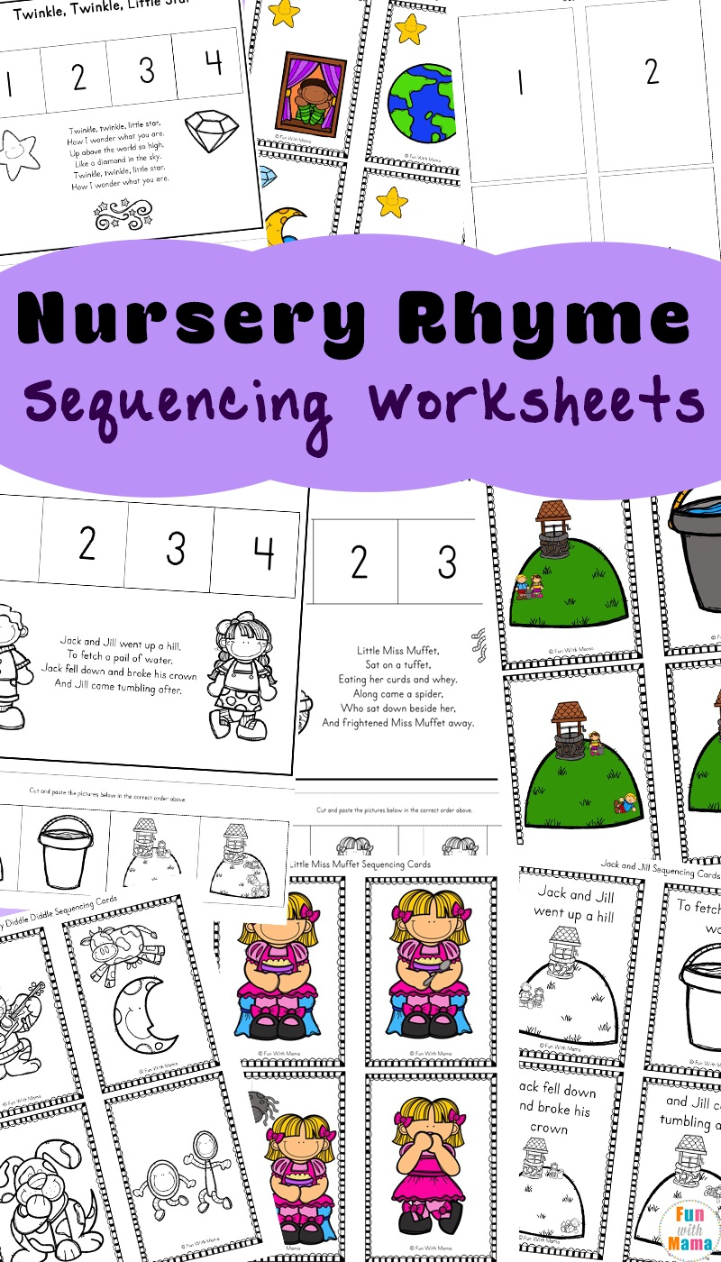 Free Nursery Rhymes Sequencing Activities - Fun With Mama - Free Printable Nursery Rhymes