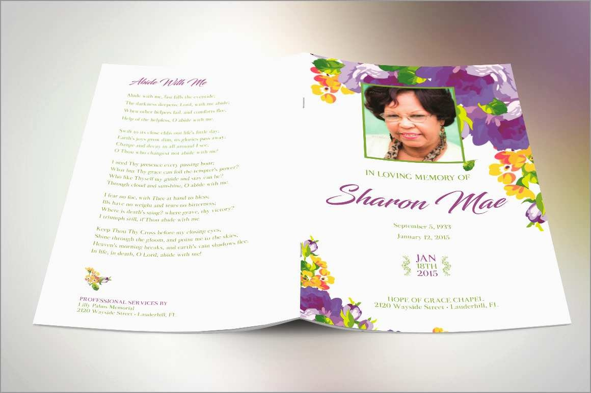 Free Obituary Template Photoshop Pleasant Obituary Templates Over 40 - Free Printable Obituary
