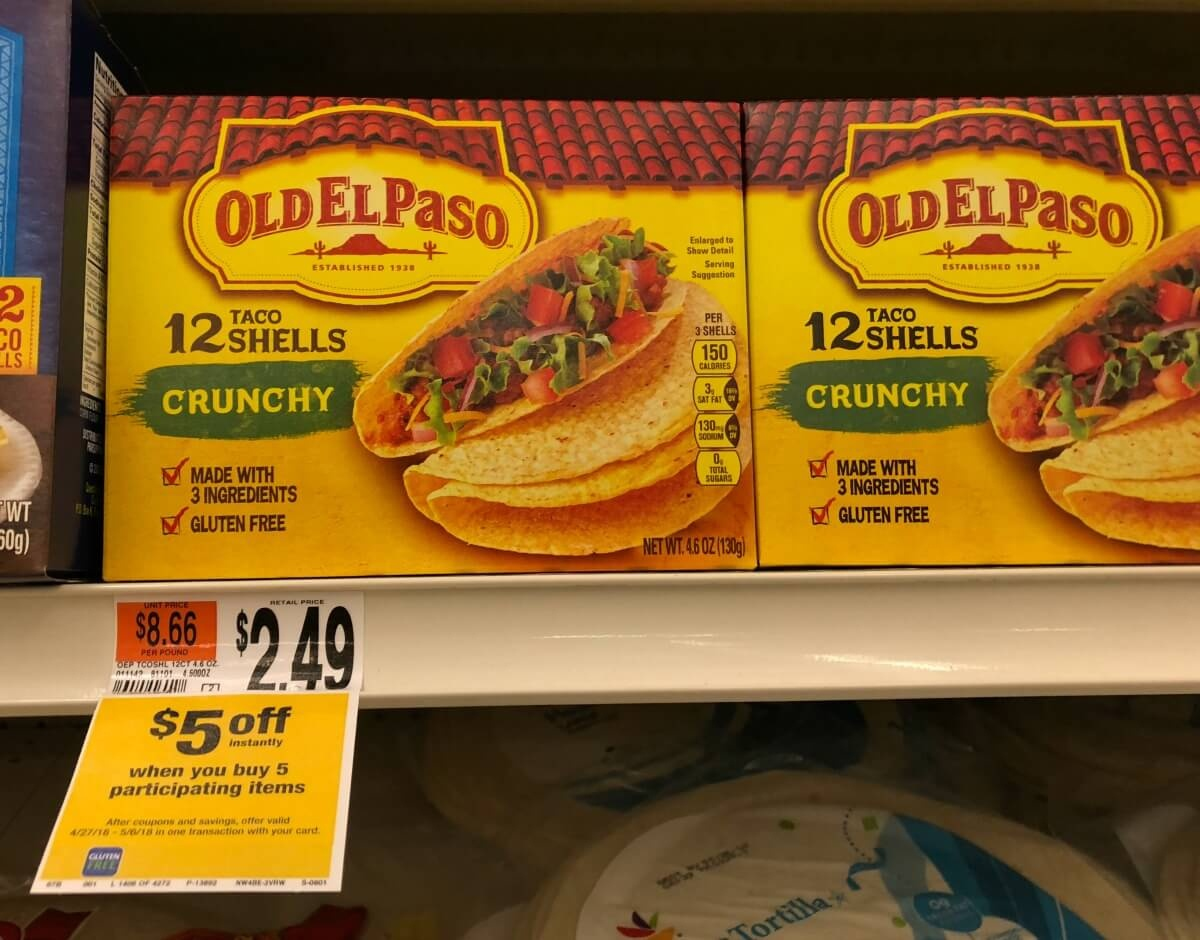 Free Old El Paso Tortillas, Taco Shells, Or Beans At Stop & Shop - Free Printable Old El Paso Coupons