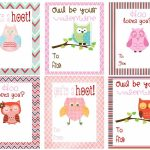 Free Owl Printables | Free Printable Valentine's Day Cards For Kids   Free Printable Valentines Day Cards Kids