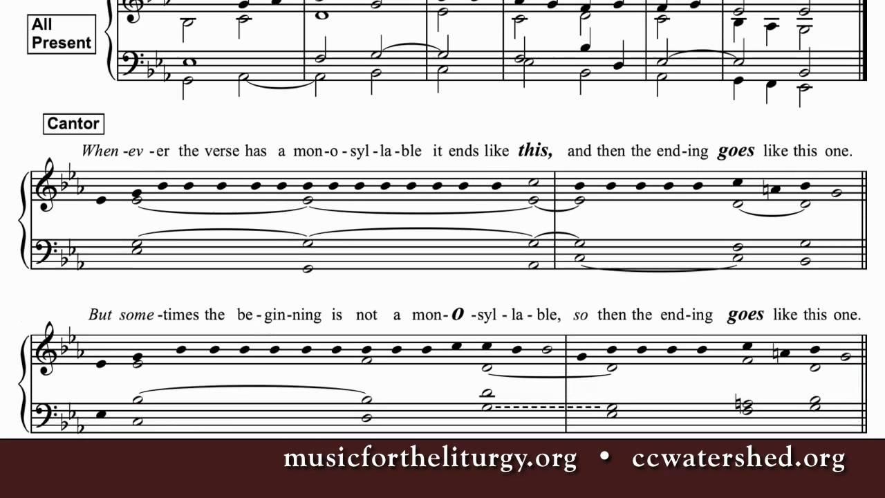 Free Pdf Catholic Alleluia • Garnier Gospel Acclamations - Youtube - Free Printable Gospel Sheet Music For Piano