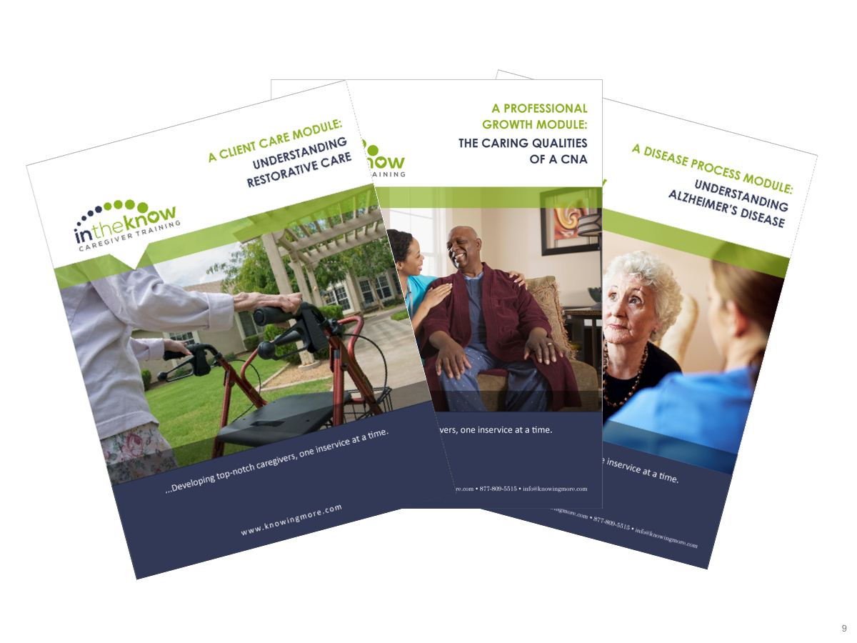 Free Pdf Download | In The Know Caregiver Training - Free Printable - Free Printable Cna Inservices