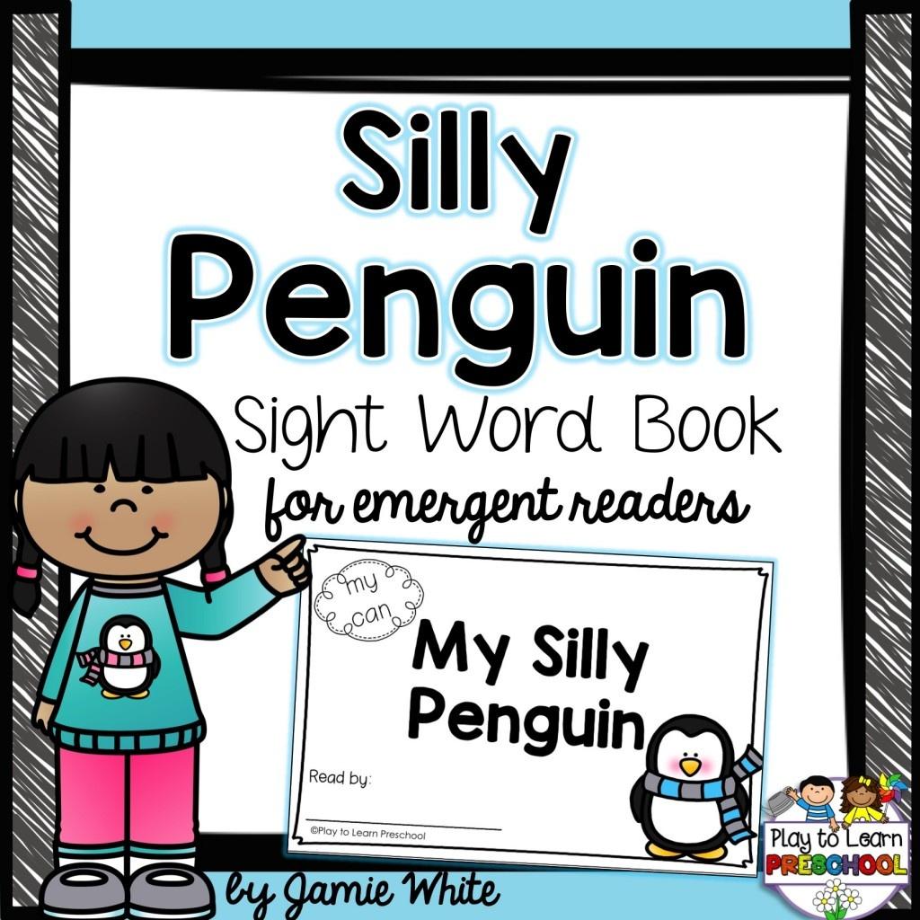 Free Penguin Emergent Reader Book - Free Printable Penguin Books