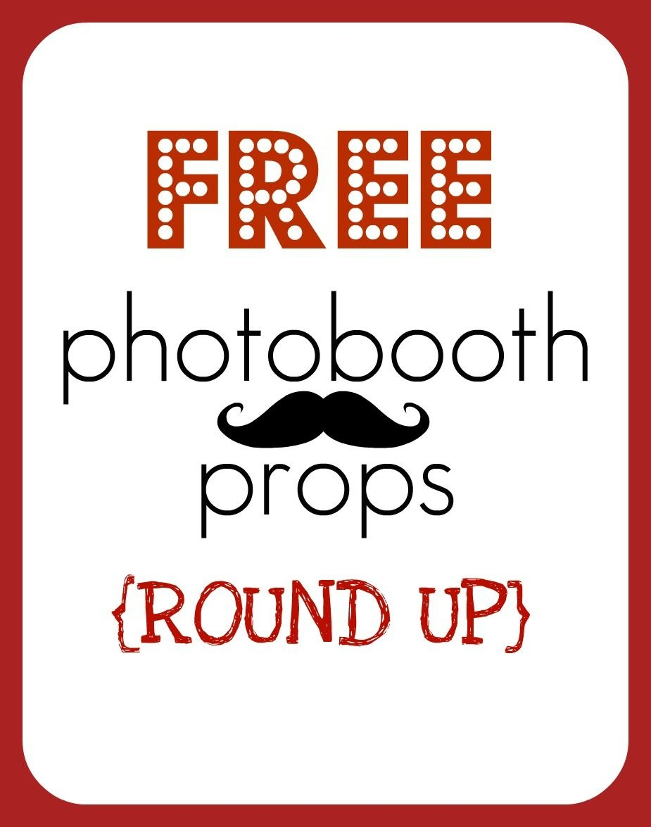 Free Photo Booth Props - Printable   Homecoming   Photobooth Props - Free Printable 30Th Birthday Photo Booth Props