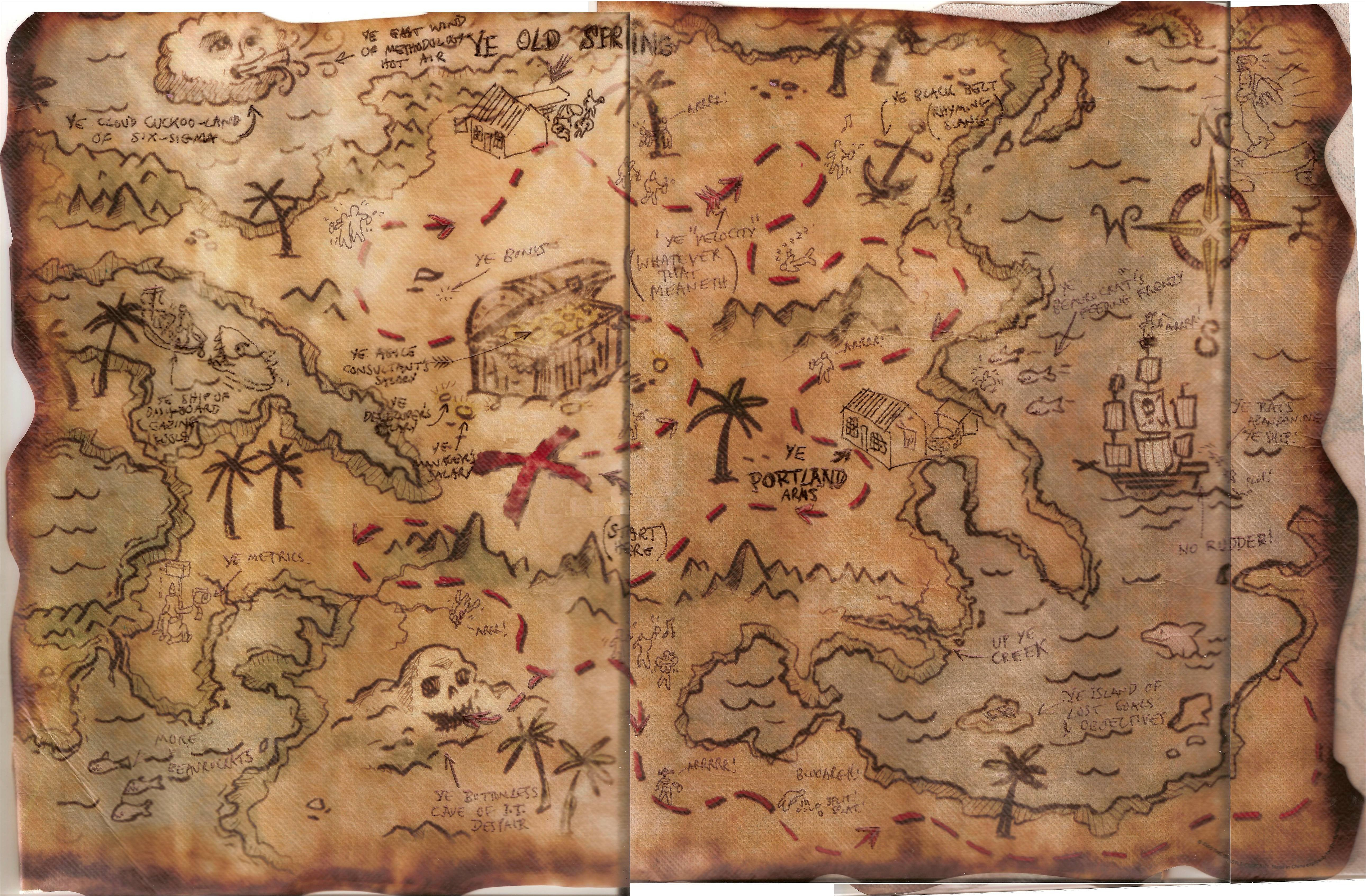 Free Pictures Of A Pirate Map, Download Free Clip Art, Free Clip Art - Free Printable Pirate Maps