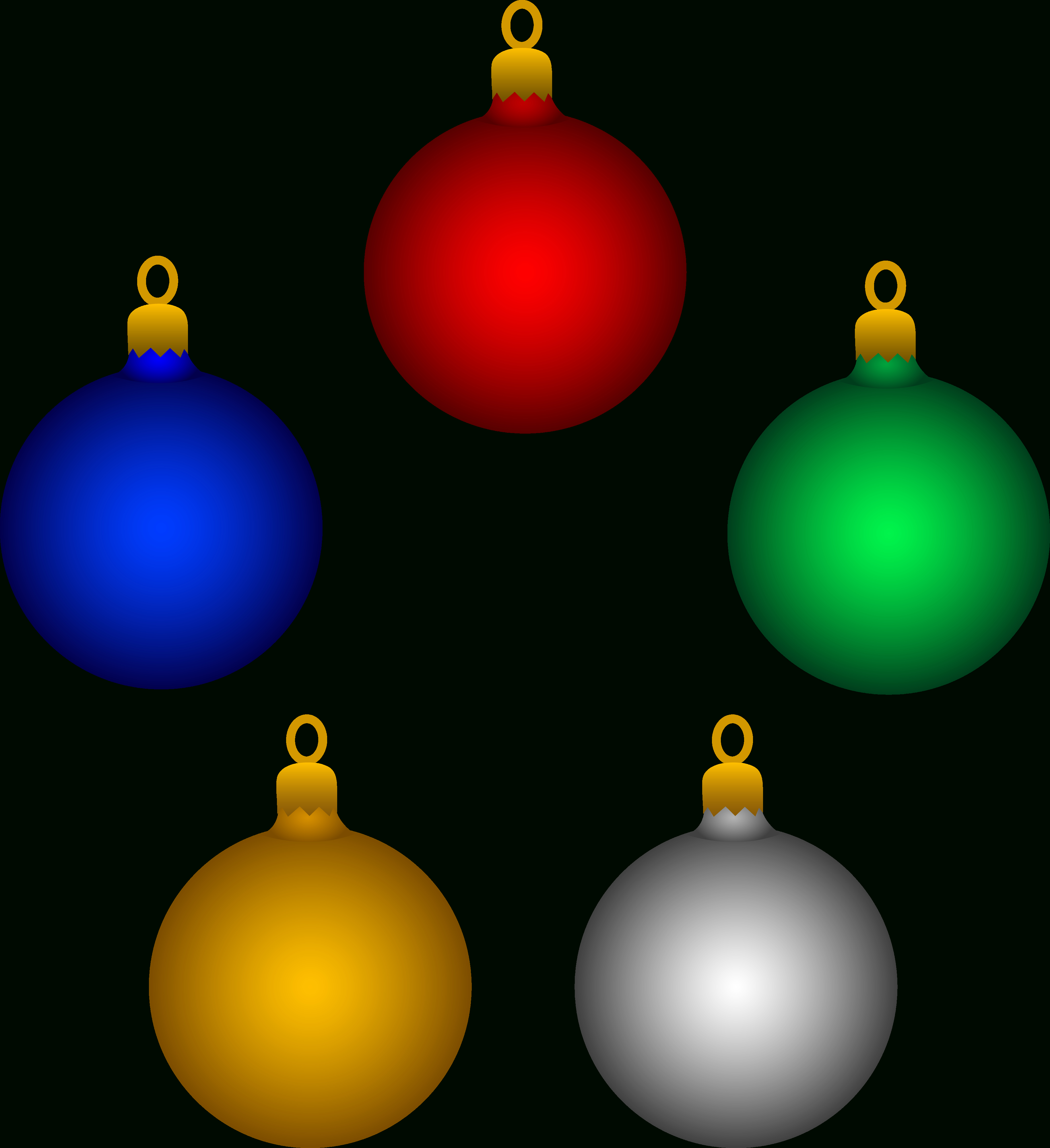 Free Pictures On Christmas Ornaments, Download Free Clip Art, Free - Free Printable Christmas Ornaments