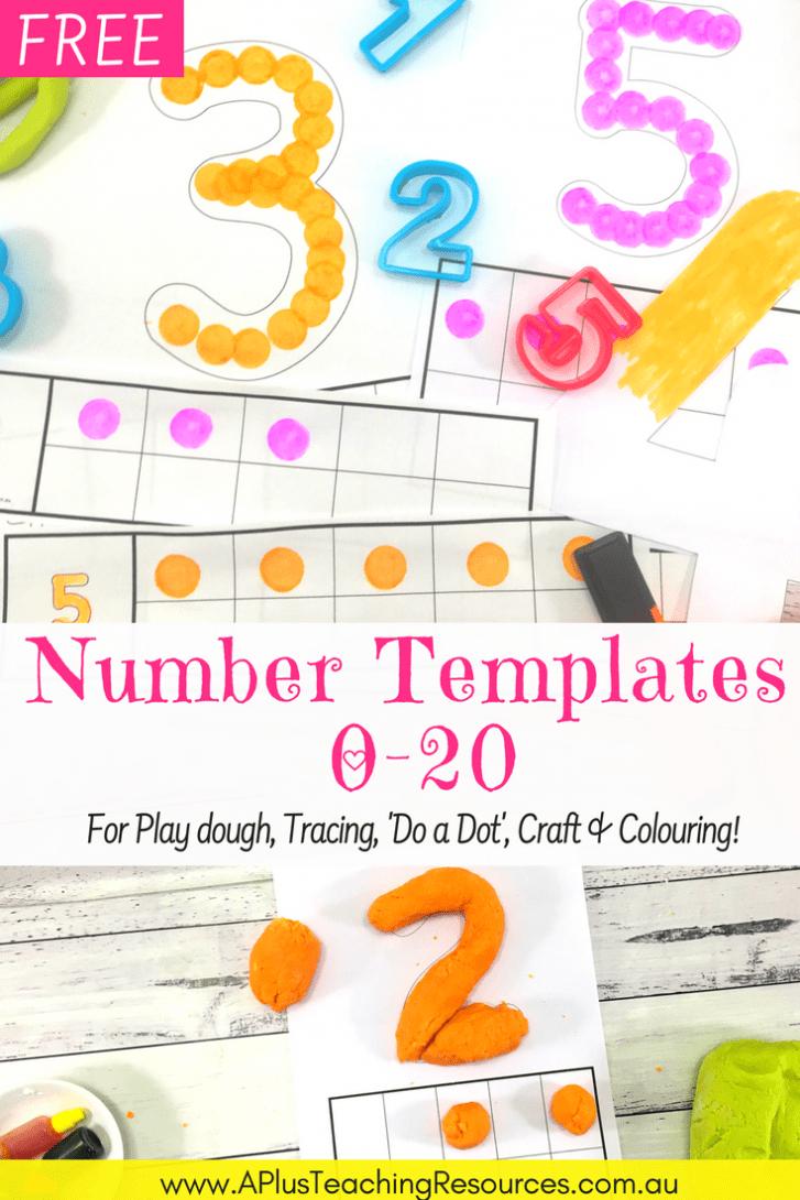 Free Playdough Mats Guaranteed To Make Learning Fun! - Free Printable Playdough Mats